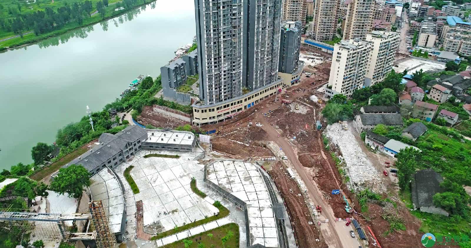 蓬安县嘉陵西路改建工程进展(2019-06-16) - 第11张  | 蓬安在线