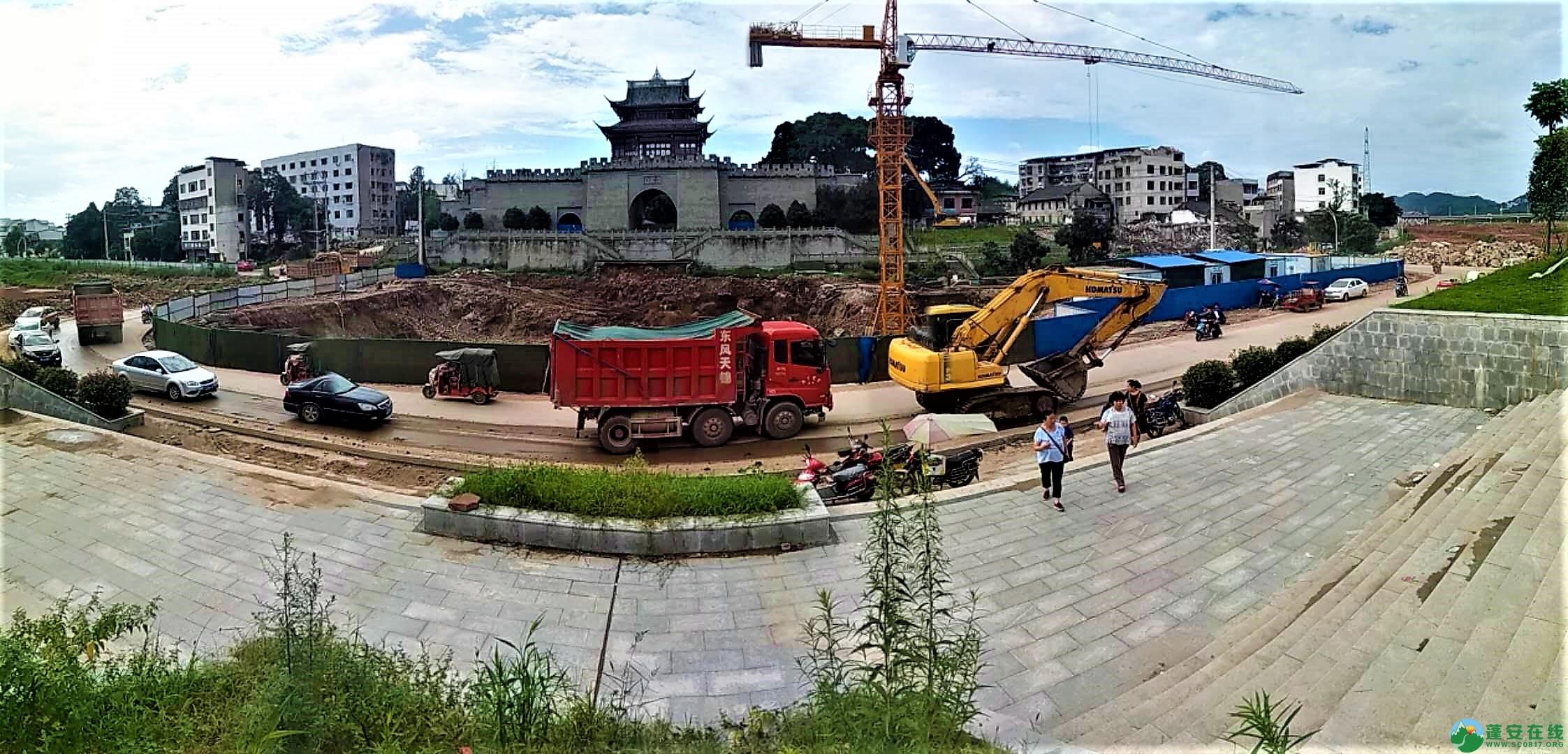 蓬安锦屏新区建设进度一览(2019年06月29日) - 第36张  | 蓬安在线