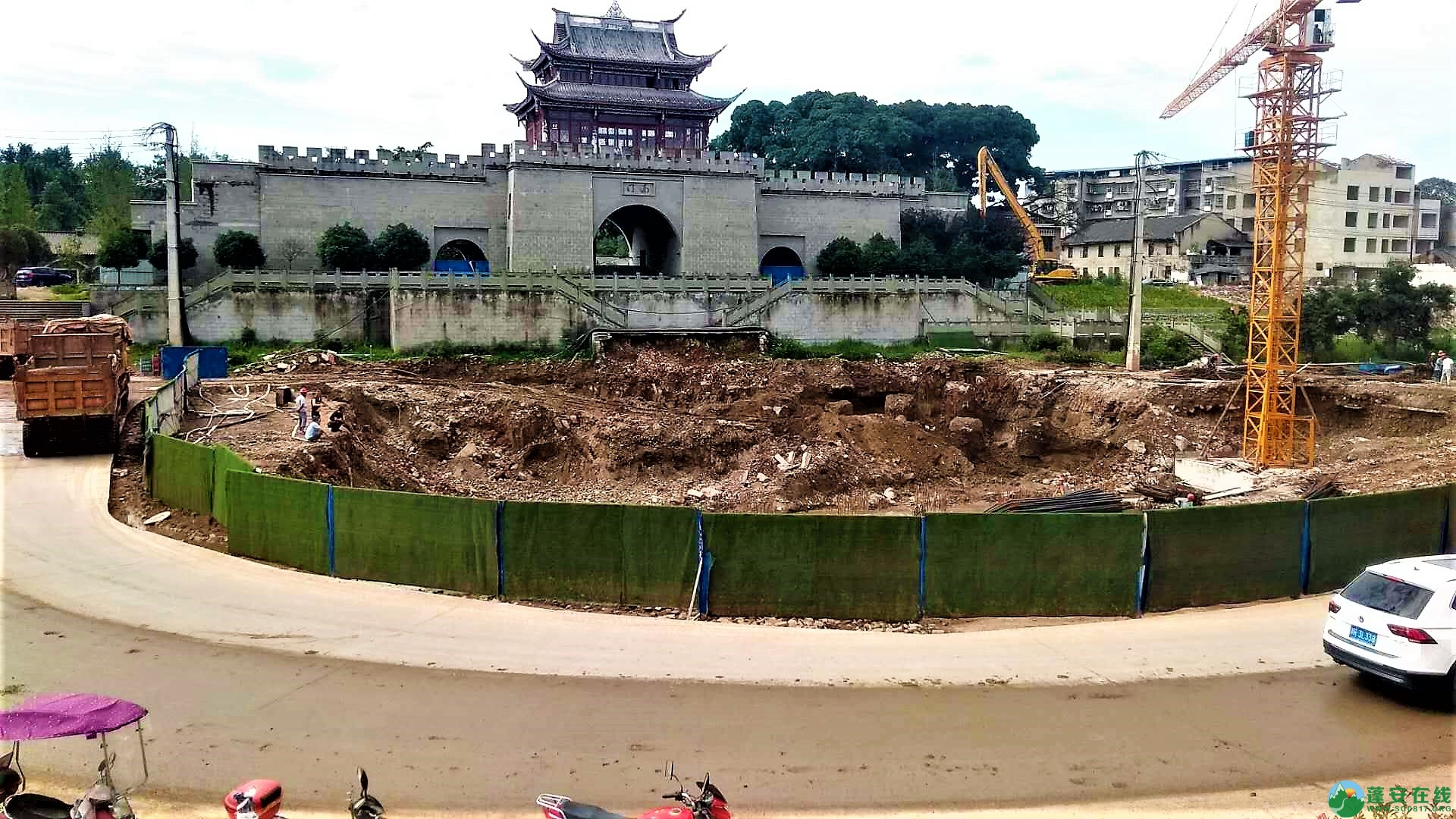 蓬安锦屏新区建设进度一览(2019年06月29日) - 第39张  | 蓬安在线