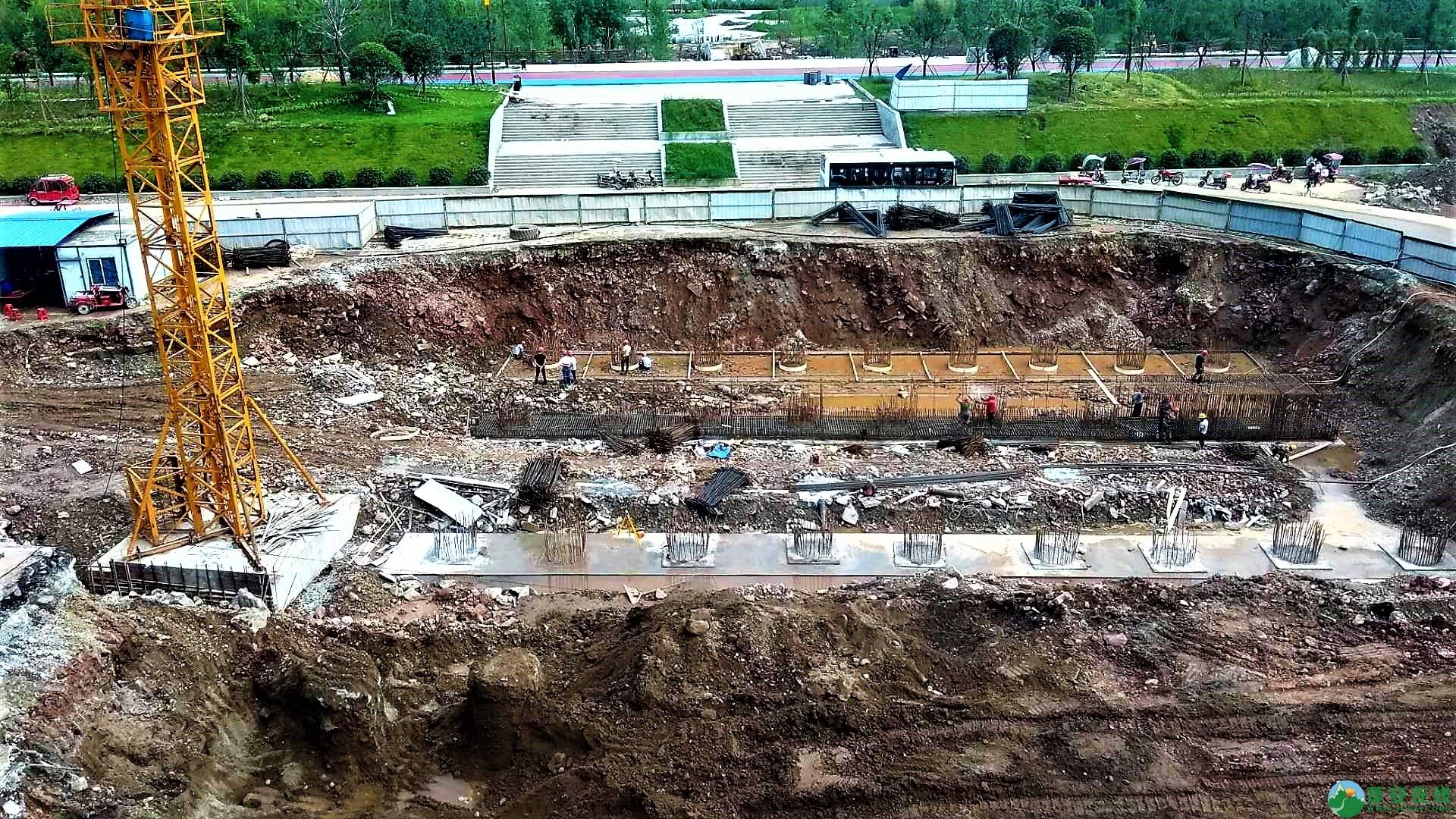 蓬安锦屏新区建设进度一览(2019年06月29日) - 第42张  | 蓬安在线