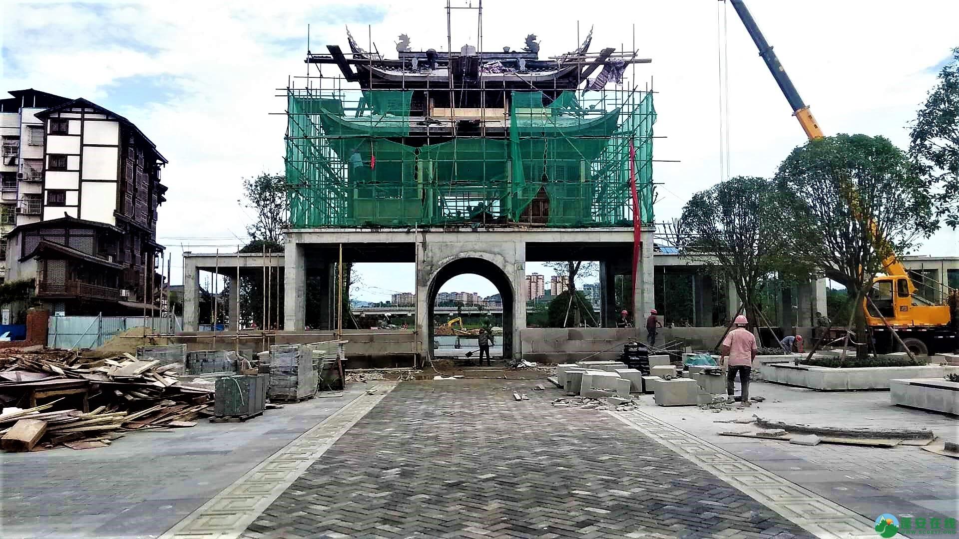 蓬安锦屏新区建设进度一览(2019年06月29日) - 第54张  | 蓬安在线