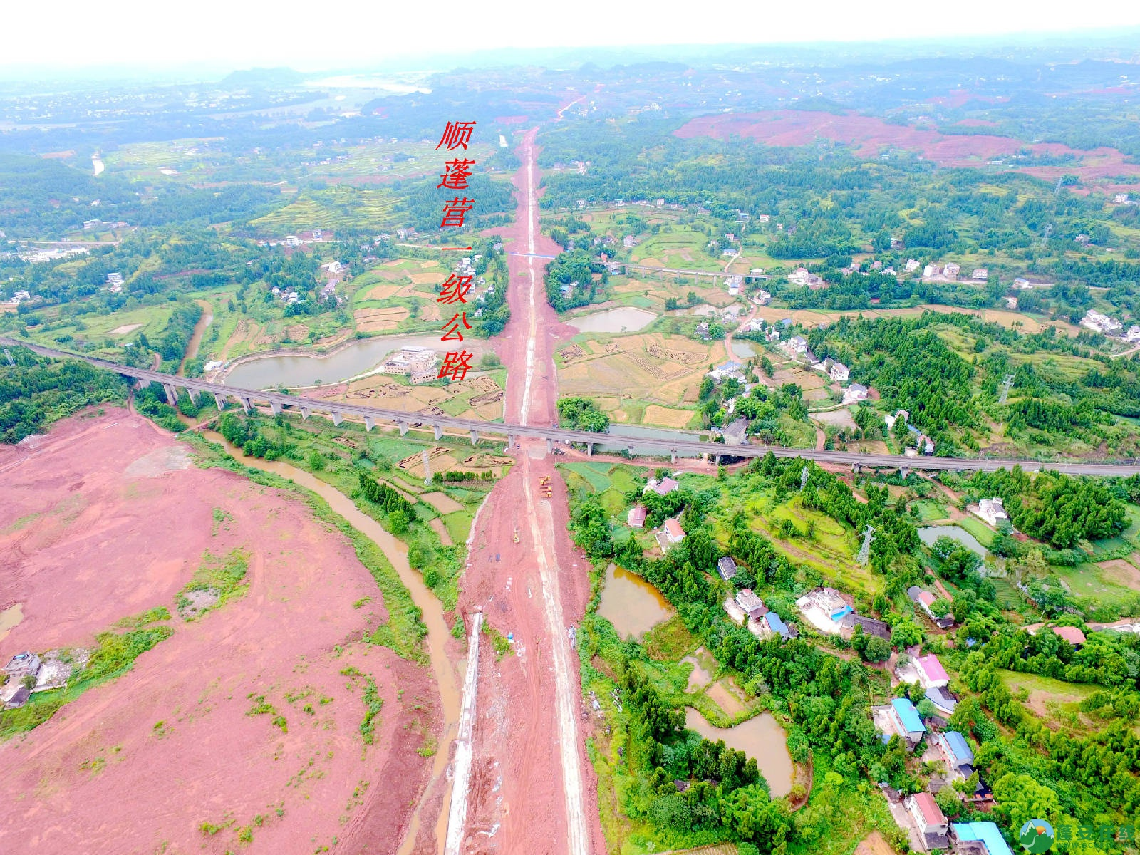 顺蓬营一级公路蓬安段、青云大道二期道路最新进展(2019.8.29) - 第1张  | 蓬安在线