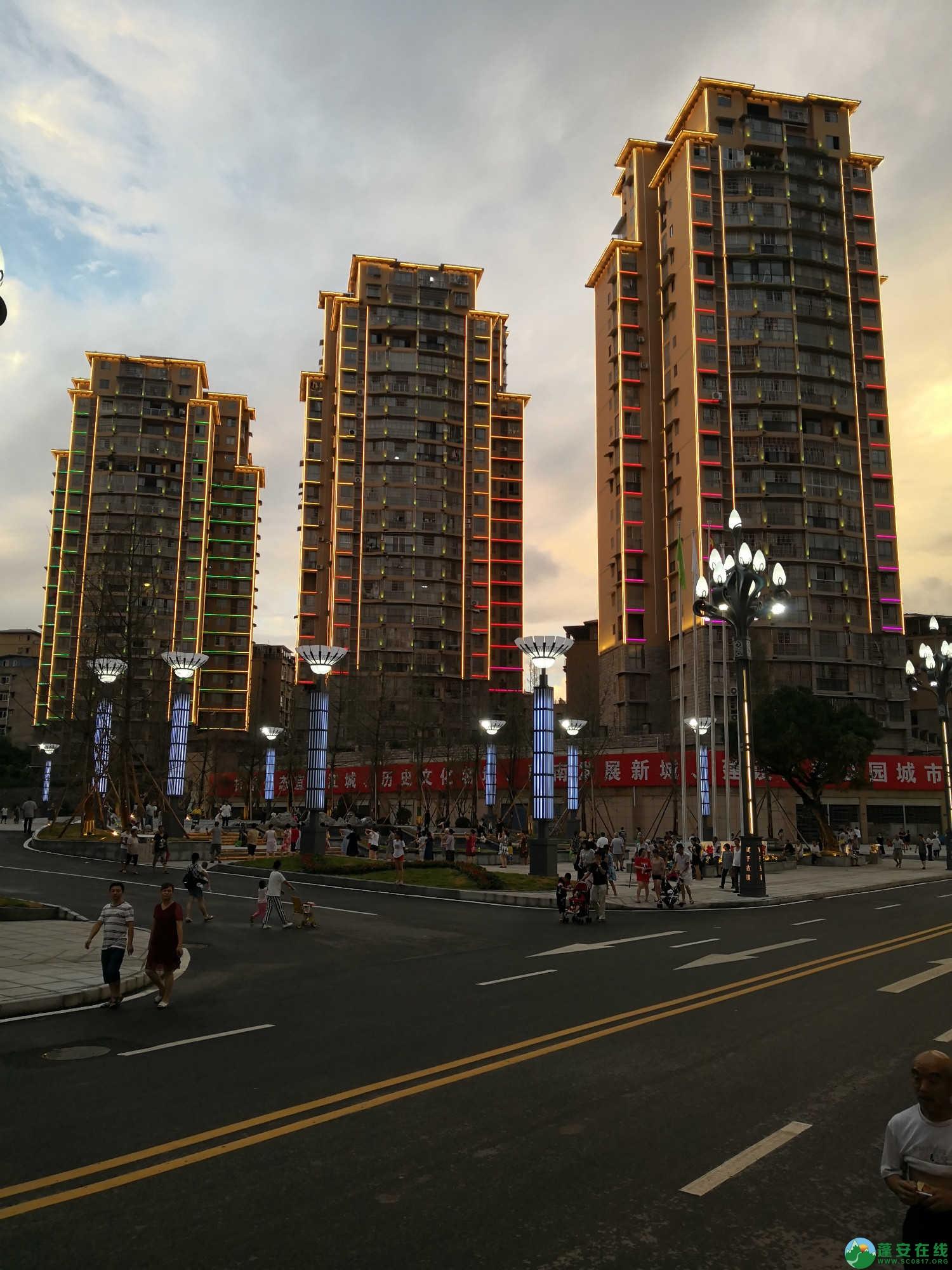 蓬安嘉陵第一桑梓棉麻路新城新貌 - 第4张  | 蓬安在线
