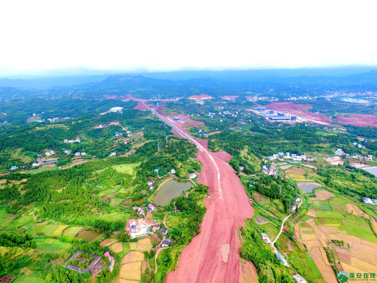 顺蓬营一级公路蓬安段、青云大道二期道路最新进展(2019.8.29) - 第4张  | 蓬安在线