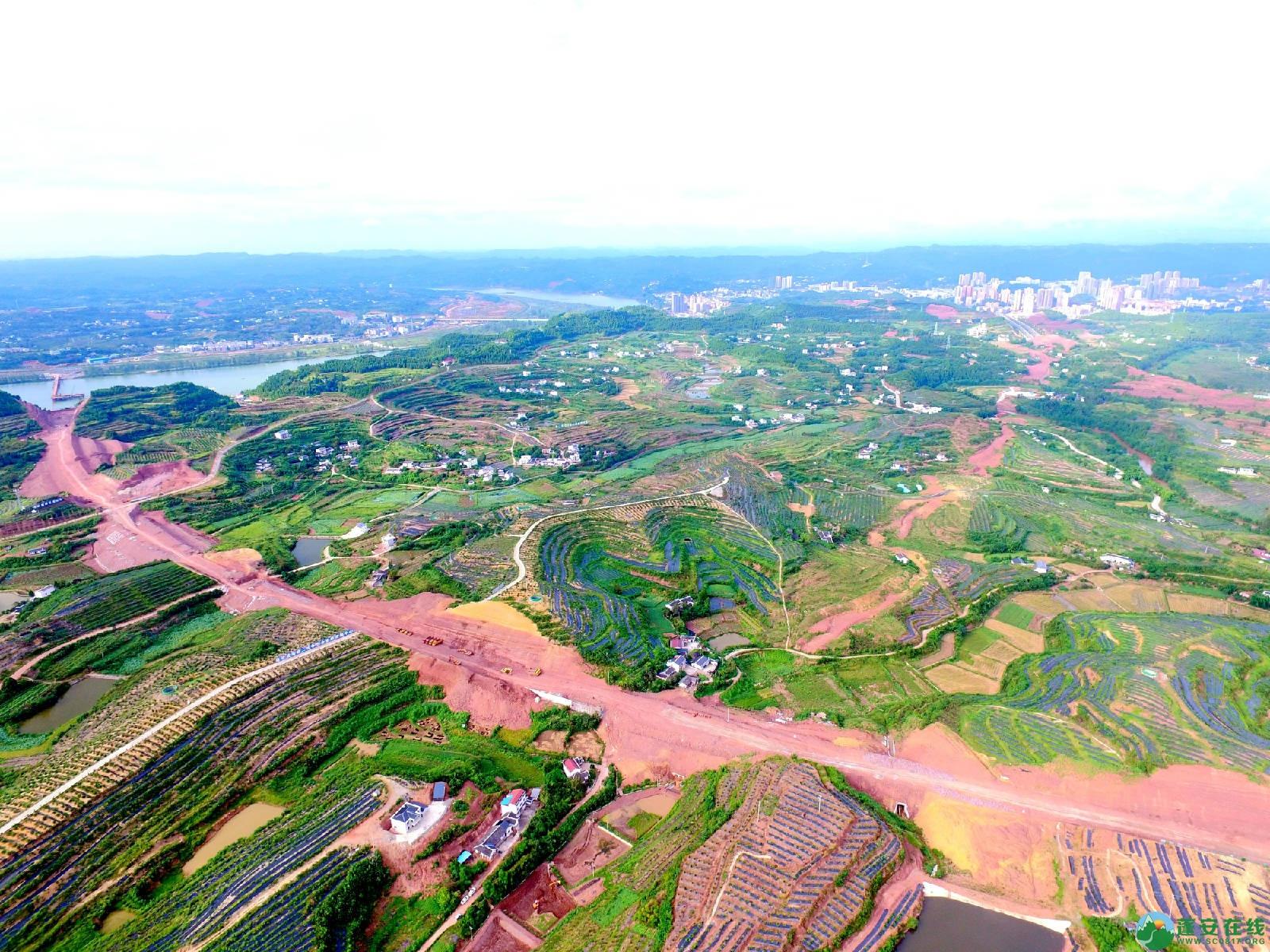 顺蓬营一级公路蓬安段、青云大道二期道路最新进展(2019.8.29) - 第10张  | 蓬安在线