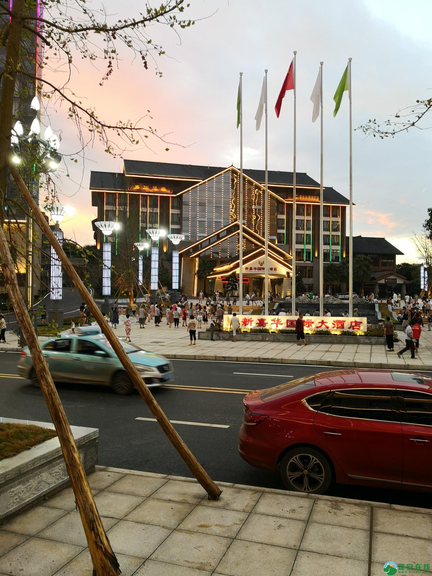 蓬安嘉陵第一桑梓棉麻路新城新貌 - 第16张  | 蓬安在线