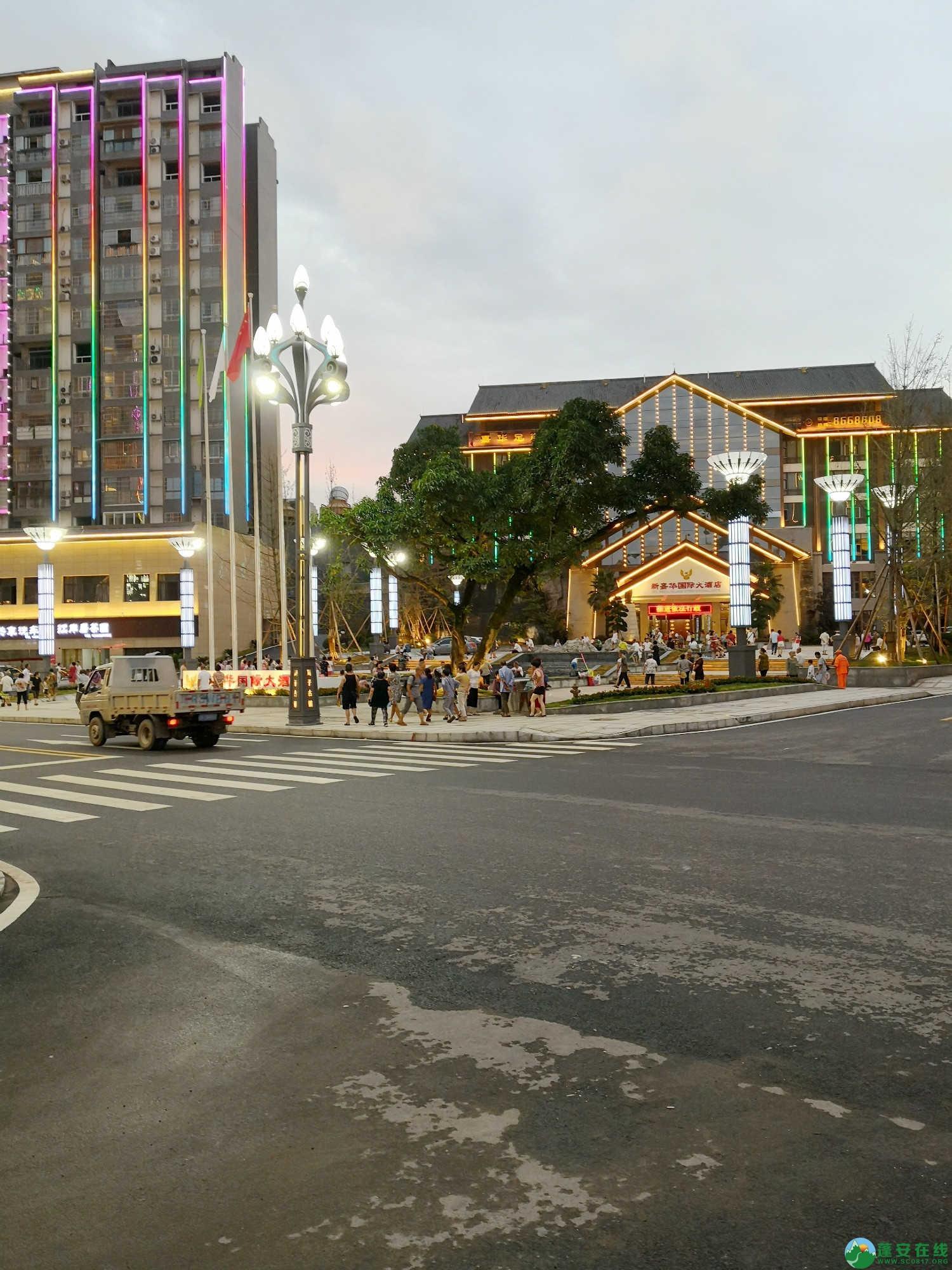 蓬安嘉陵第一桑梓棉麻路新城新貌 - 第20张  | 蓬安在线