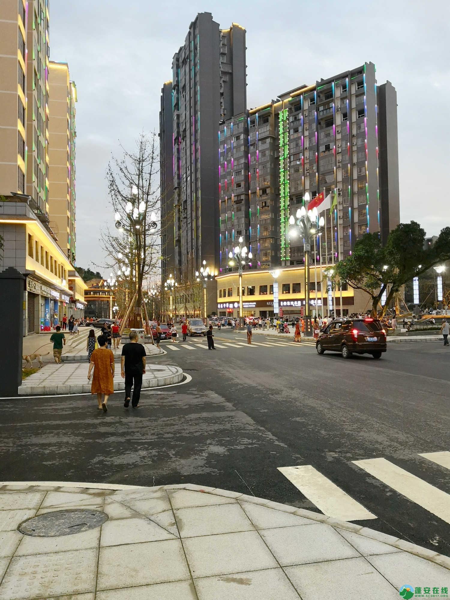 蓬安嘉陵第一桑梓棉麻路新城新貌 - 第21张  | 蓬安在线
