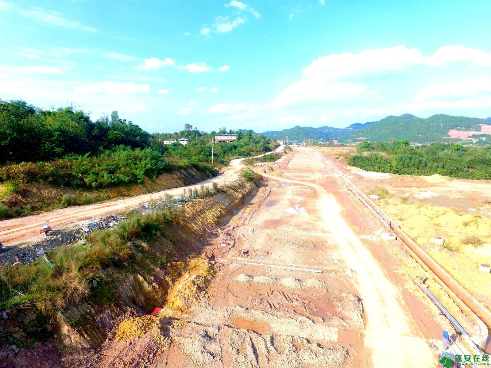 蓬安县锦屏新区干一道最新进展(2019.10.19) - 第1张  | 蓬安在线