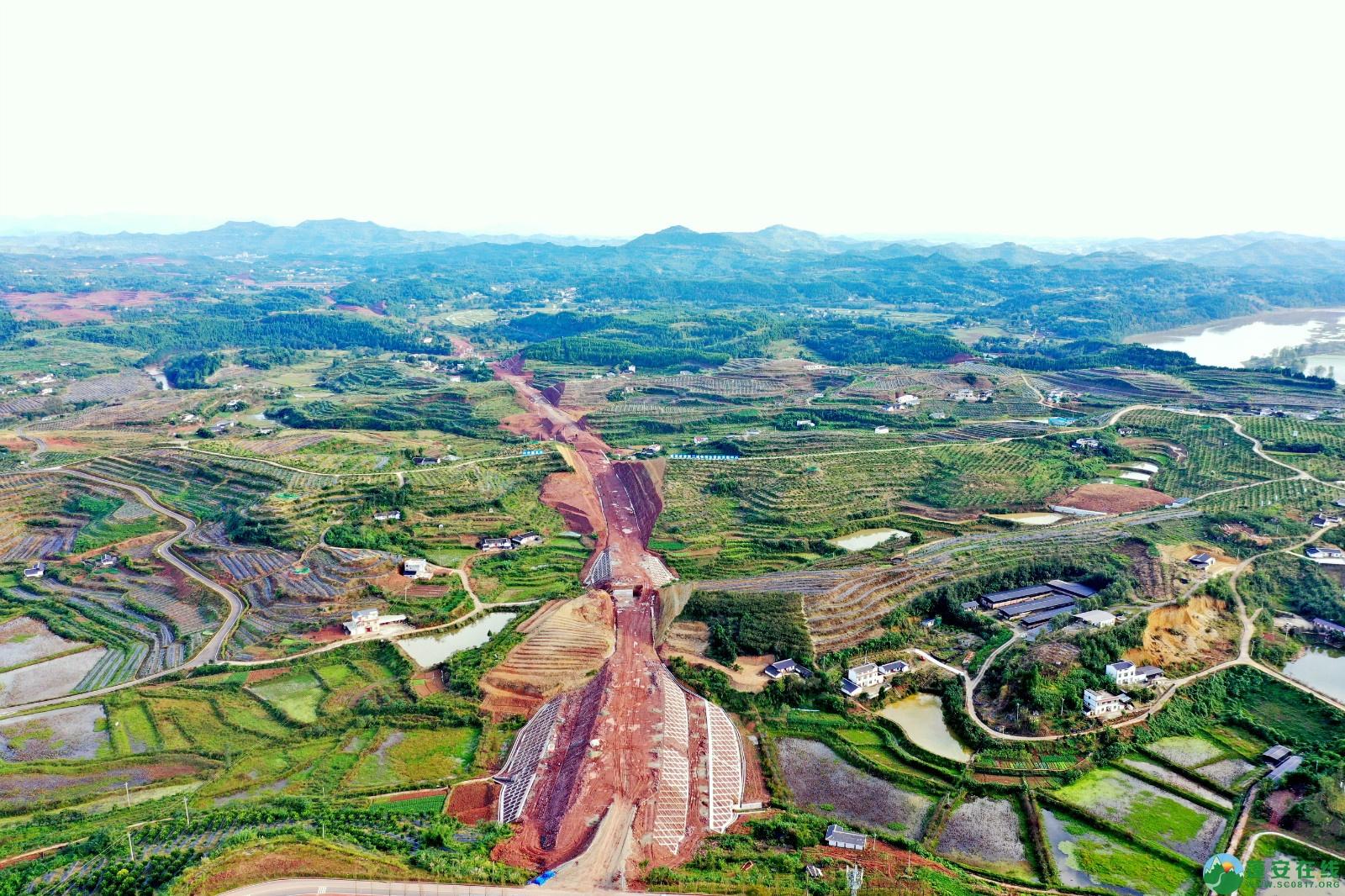 蓬安县顺蓬营一级公路最新进展(2019.10.16) - 第4张  | 蓬安在线