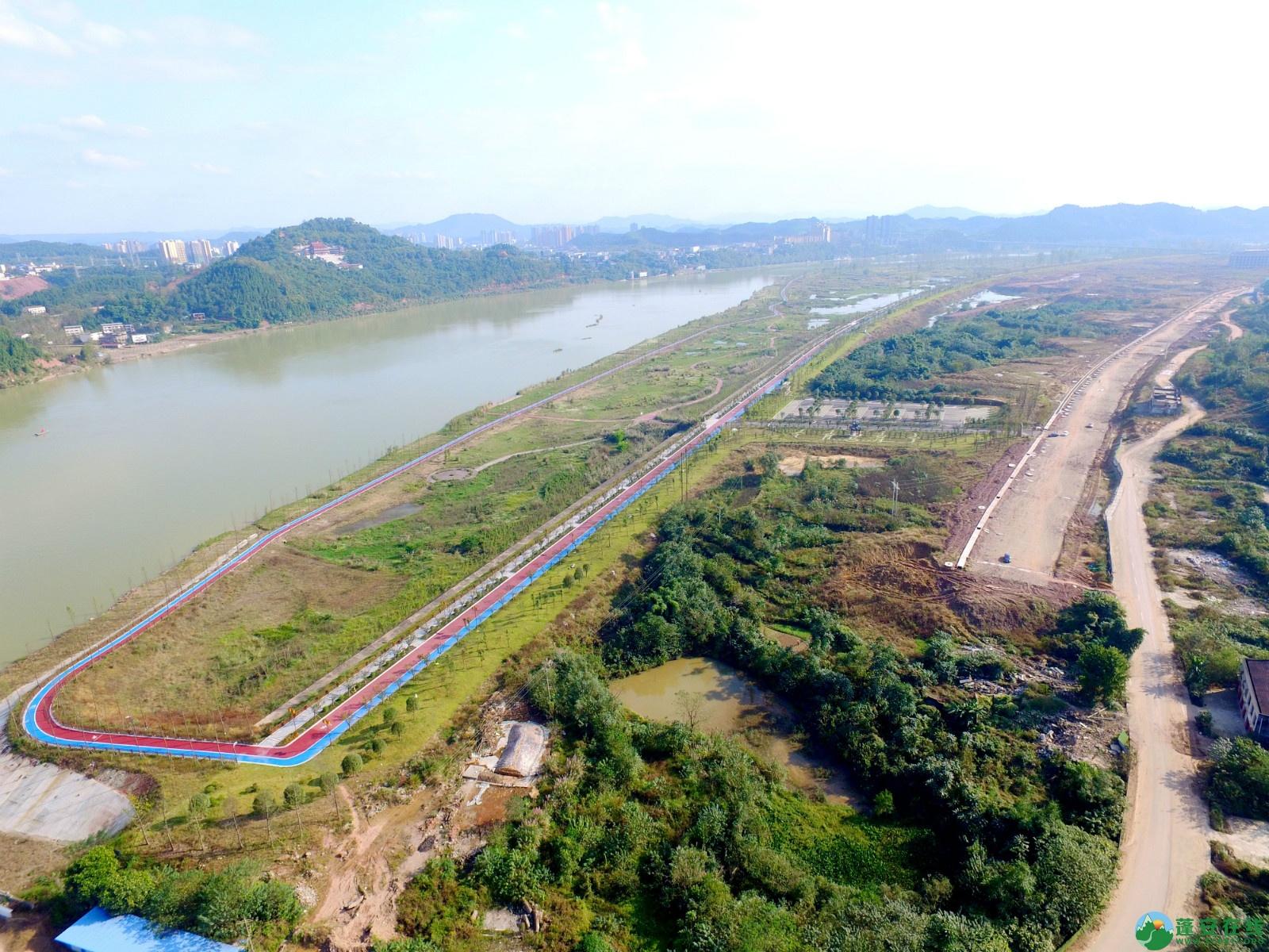 蓬安县锦屏新区干一道最新进展(2019.10.19) - 第4张  | 蓬安在线