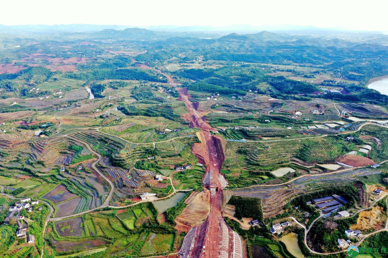 蓬安县顺蓬营一级公路最新进展(2019.10.16) - 第5张  | 蓬安在线