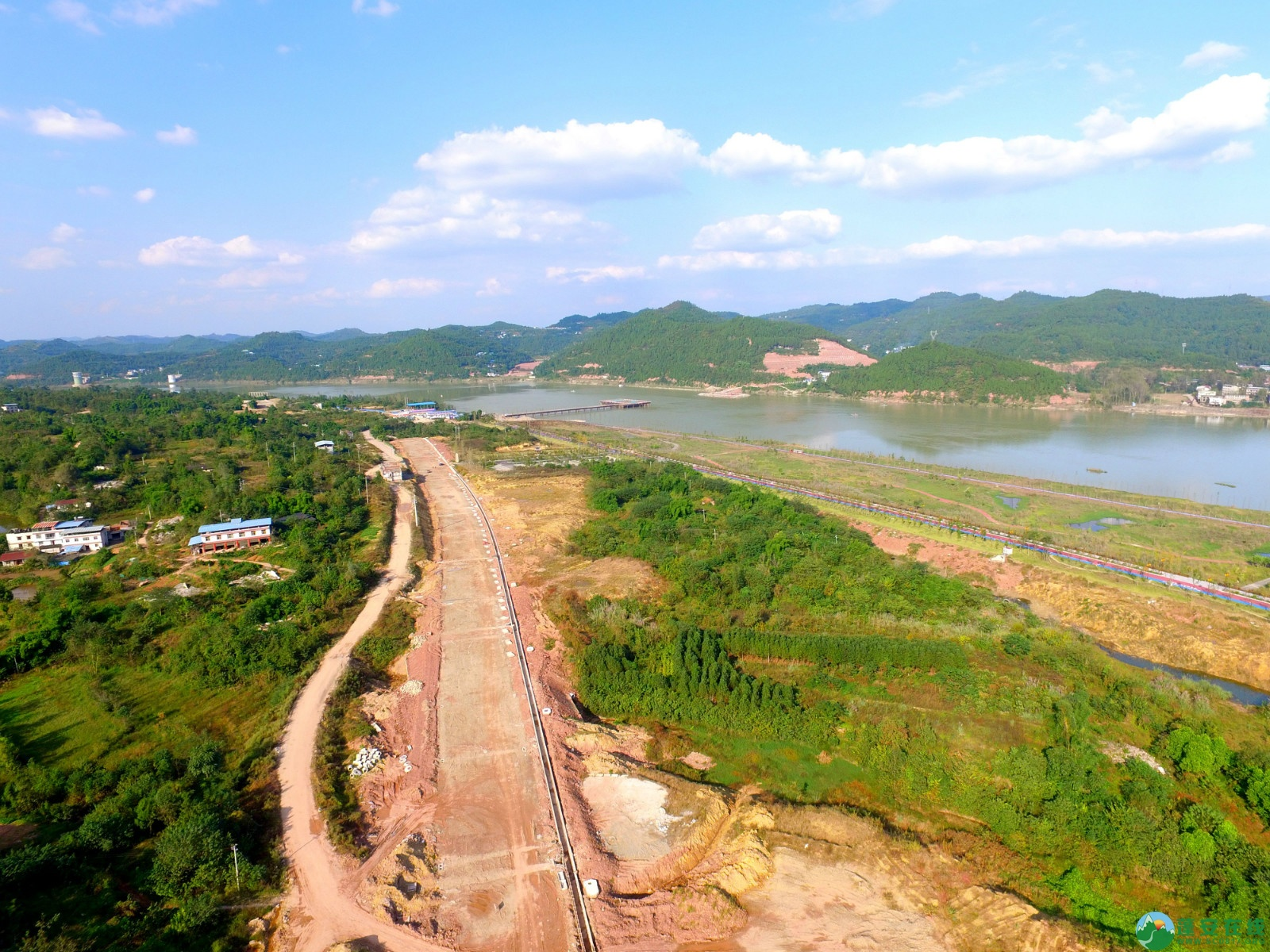 蓬安县锦屏新区干一道最新进展(2019.10.19) - 第5张  | 蓬安在线