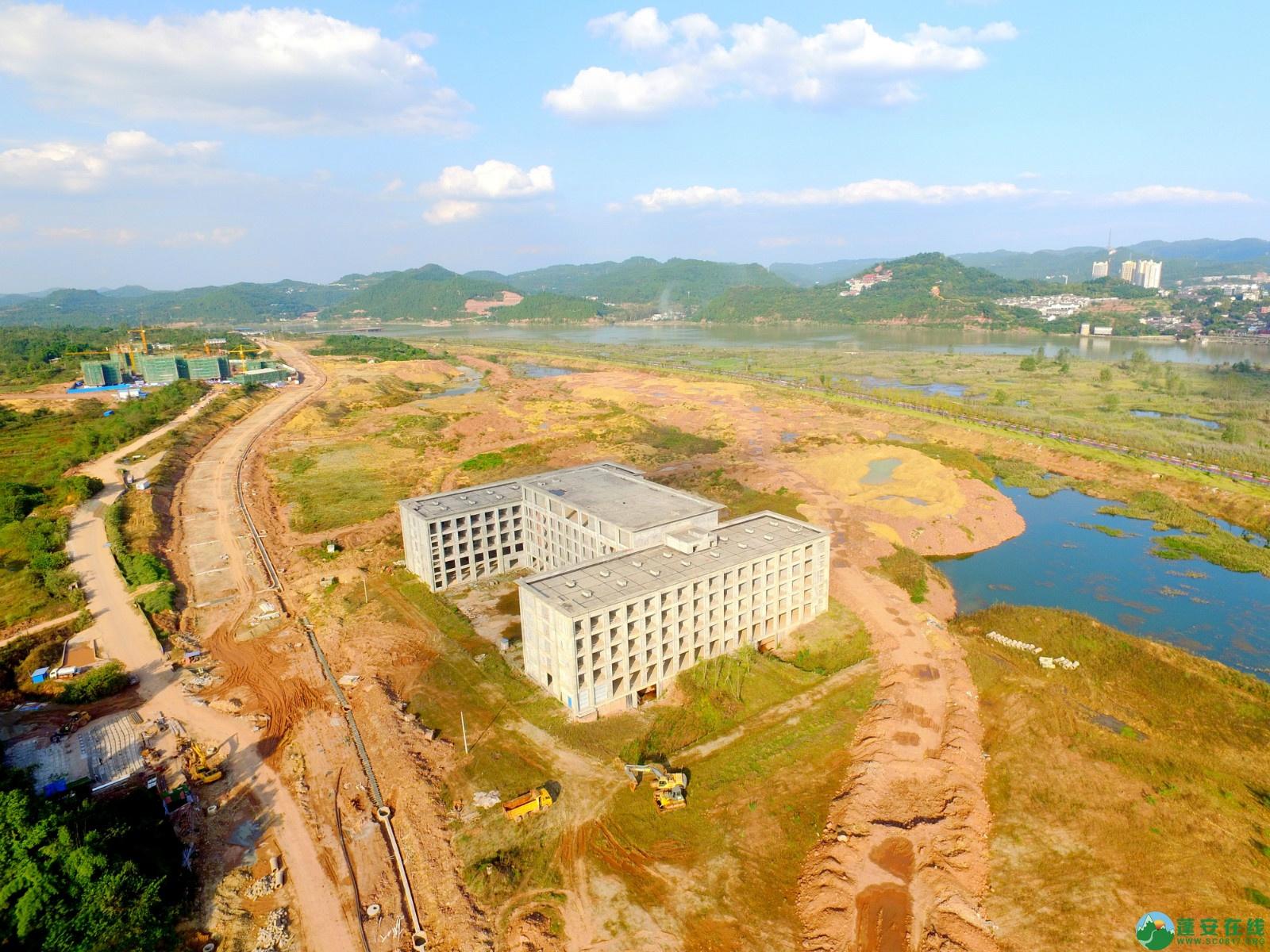 蓬安县锦屏新区干一道最新进展(2019.10.19) - 第6张  | 蓬安在线