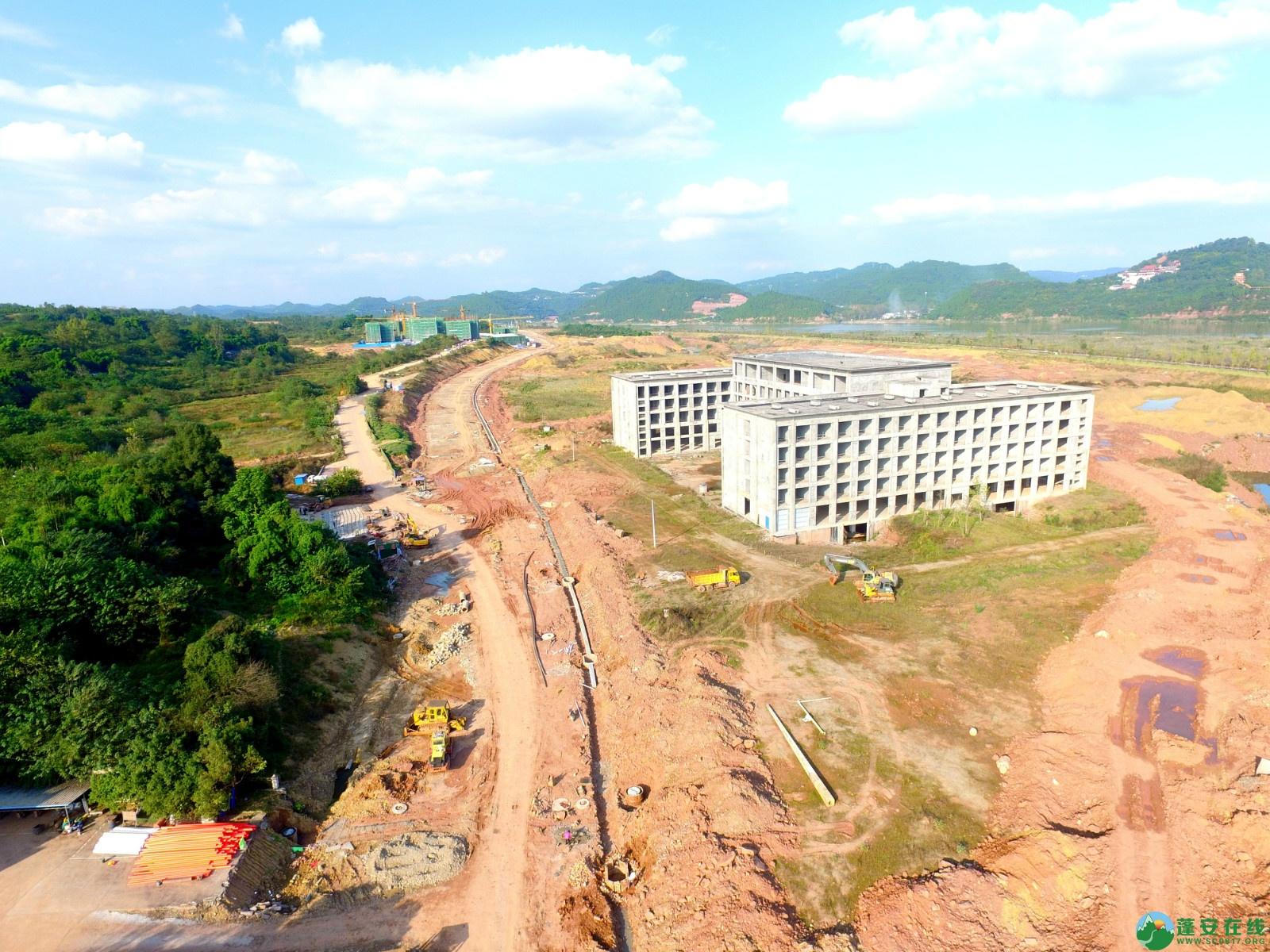 蓬安县锦屏新区干一道最新进展(2019.10.19) - 第7张  | 蓬安在线