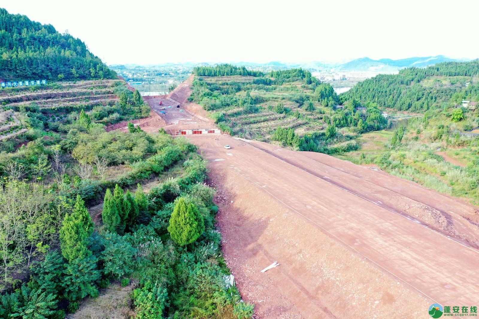 蓬安县顺蓬营一级公路最新进展(2019.10.16) - 第9张  | 蓬安在线