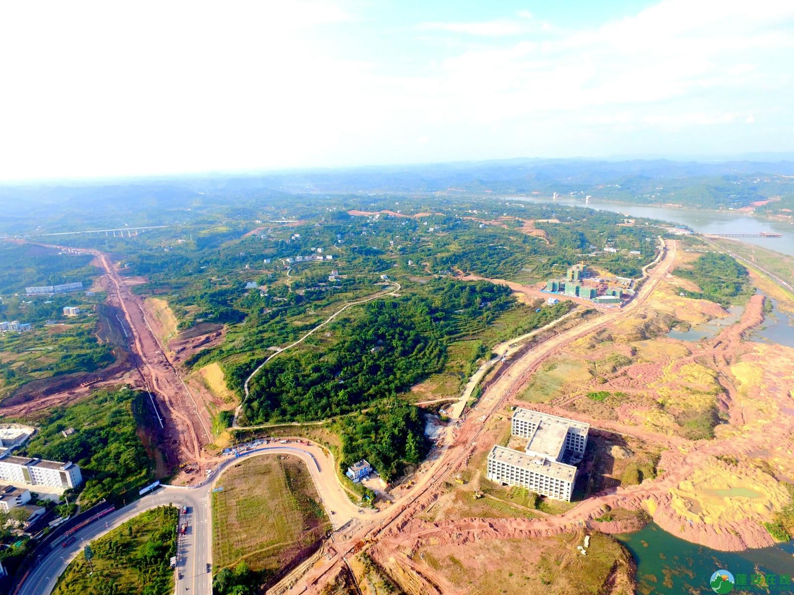蓬安县锦屏新区干一道最新进展(2019.10.19) - 第9张  | 蓬安在线