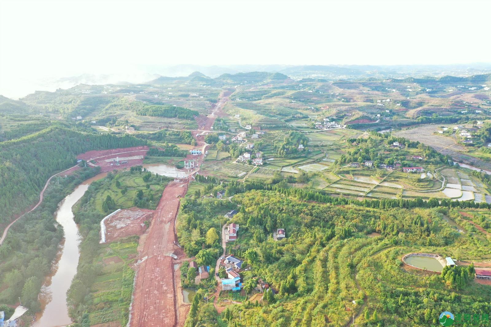 蓬安县顺蓬营一级公路最新进展(2019.10.16) - 第11张  | 蓬安在线