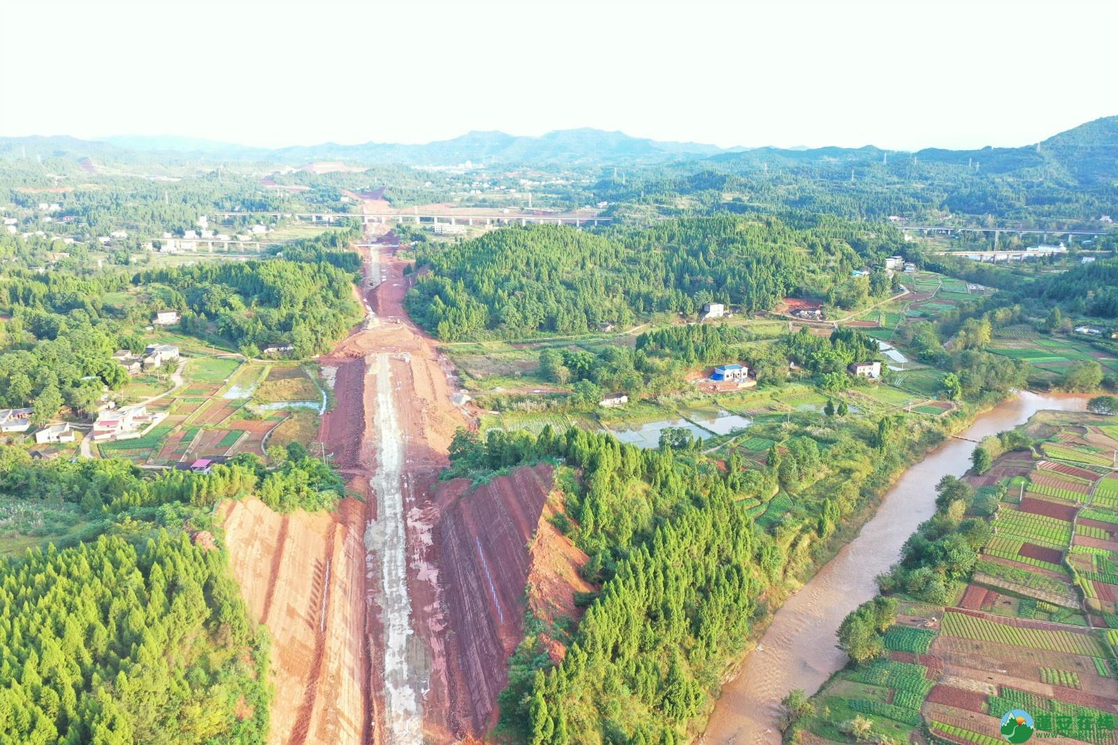 蓬安县顺蓬营一级公路最新进展(2019.10.16) - 第12张  | 蓬安在线