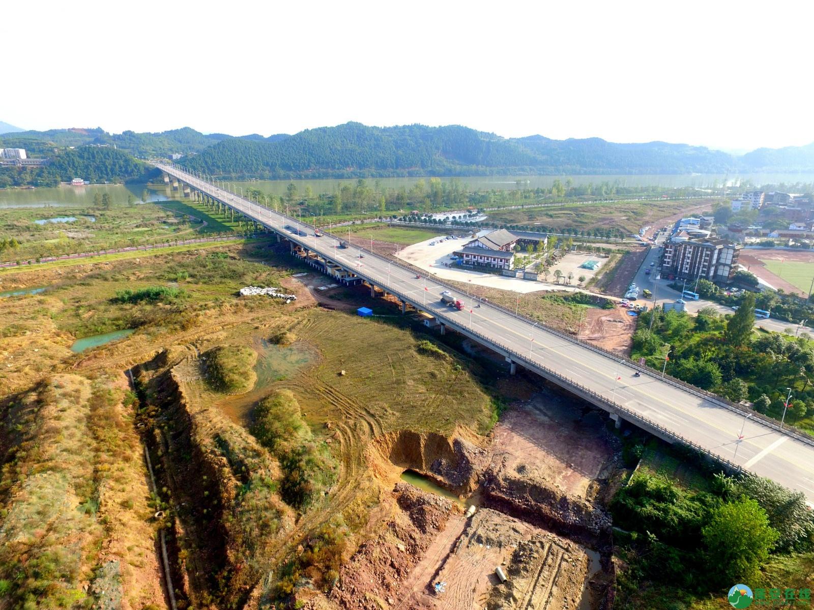 蓬安县锦屏新区干一道最新进展(2019.10.19) - 第12张  | 蓬安在线