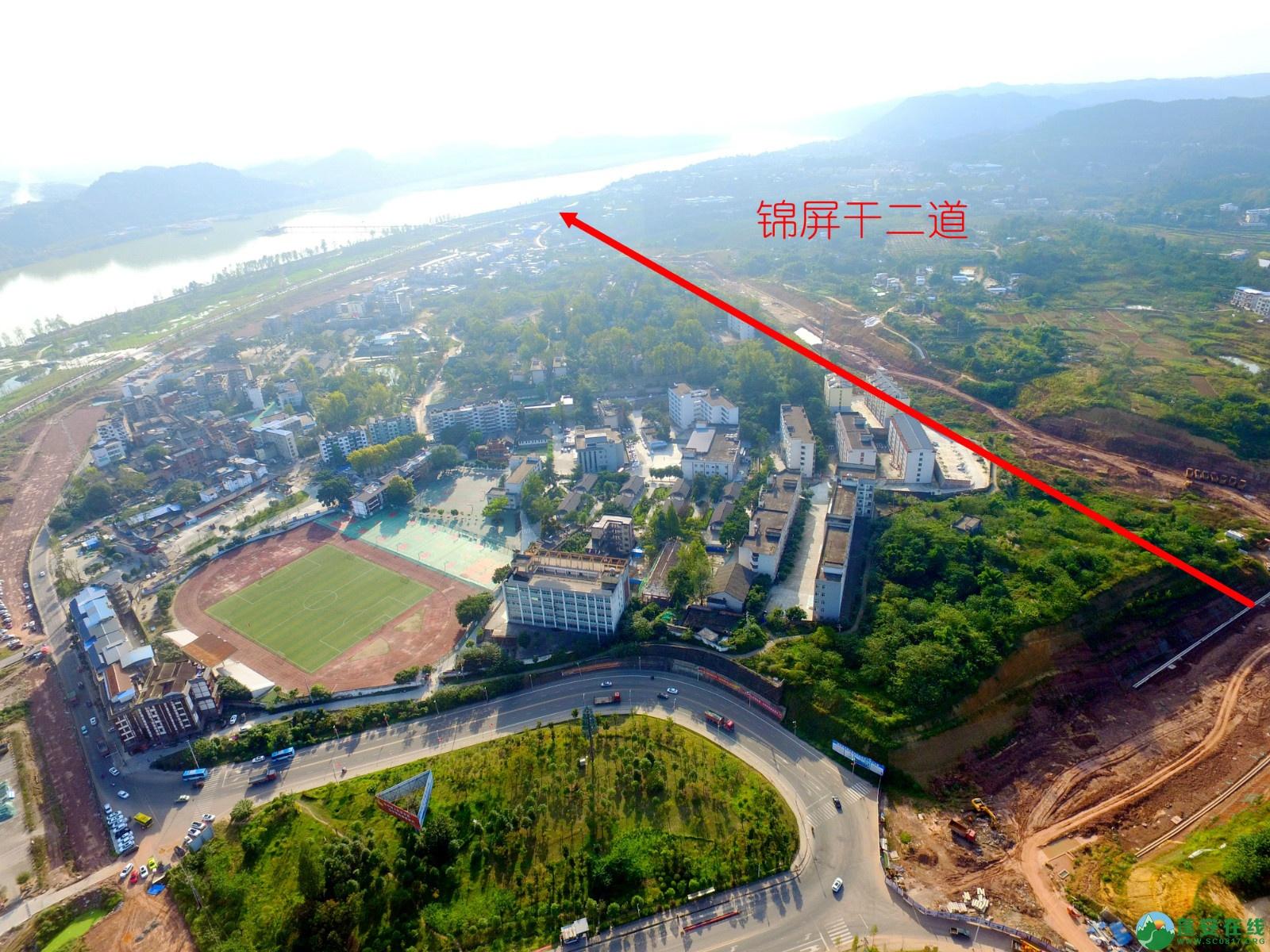 蓬安县锦屏新区干一道最新进展(2019.10.19) - 第13张  | 蓬安在线