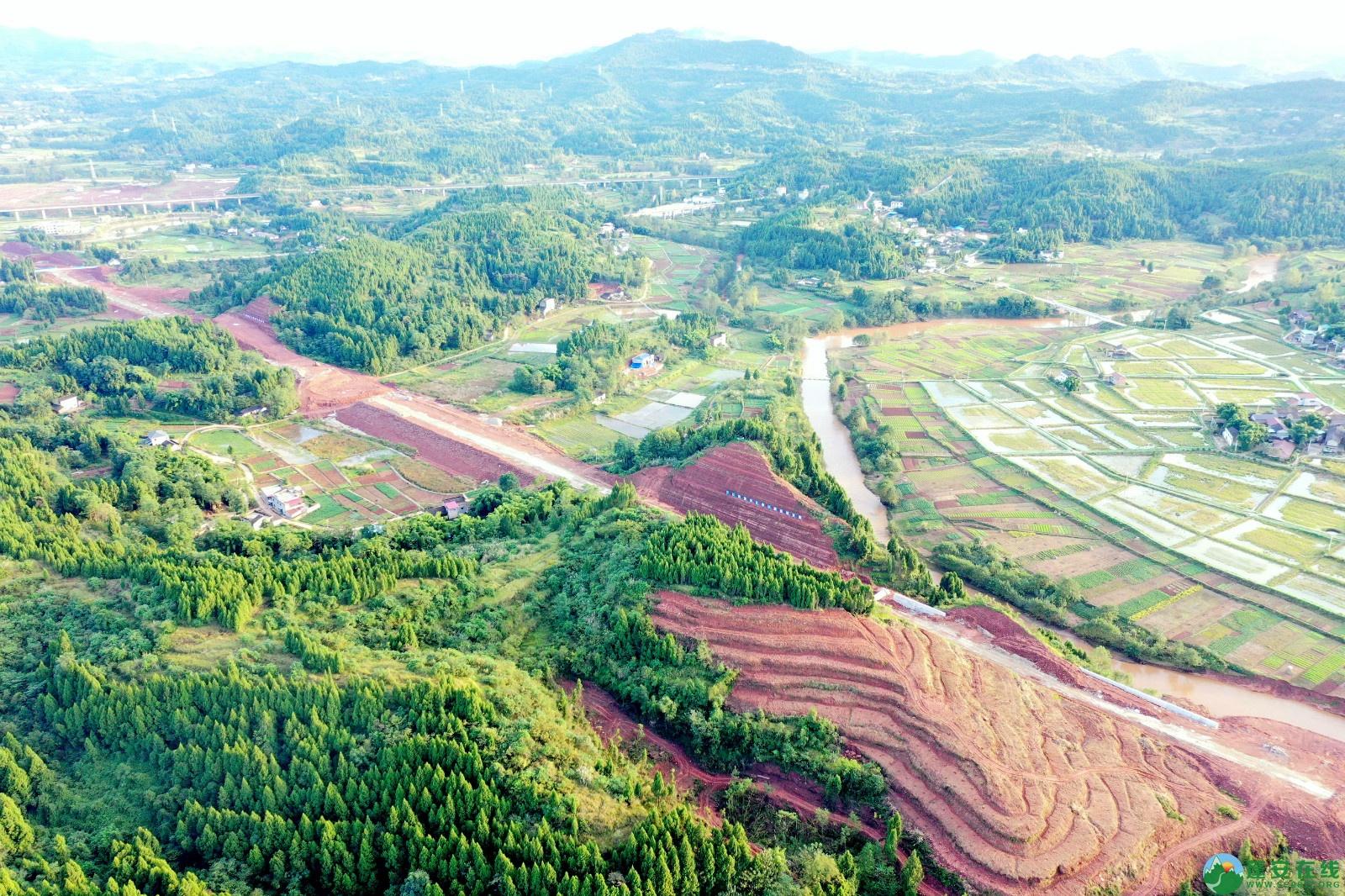 蓬安县顺蓬营一级公路最新进展(2019.10.16) - 第16张  | 蓬安在线