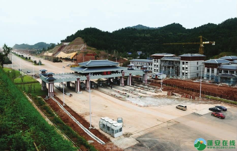 蓬安燕山大道预计2020年元旦通车 - 第1张  | 蓬安在线