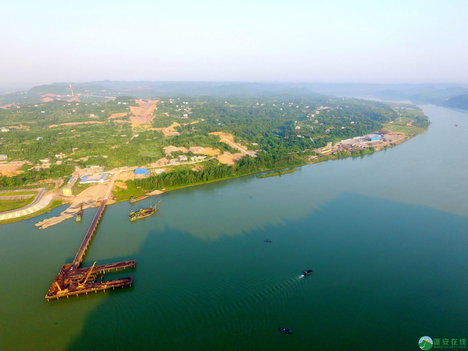 蓬安绕城北路锦屏段、凤凰大桥西延线最新进展!(2019.11.1) - 第6张  | 蓬安在线