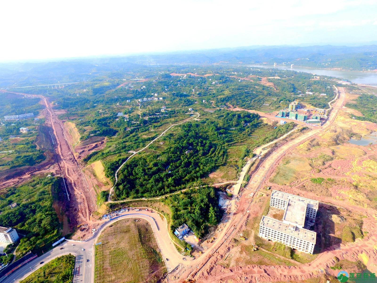 蓬安绕城北路锦屏段、凤凰大桥西延线最新进展!(2019.11.1) - 第9张  | 蓬安在线