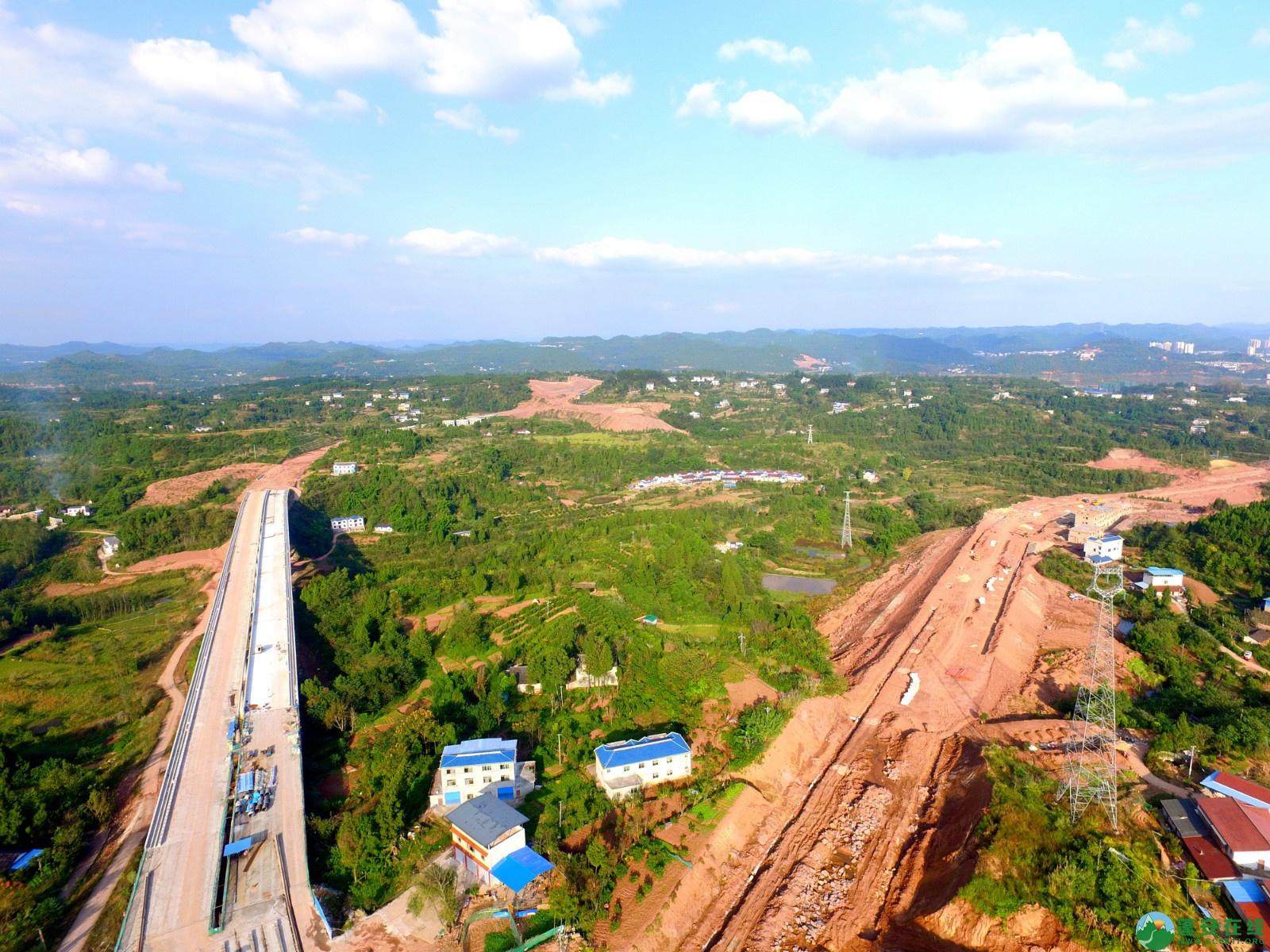 蓬安绕城北路锦屏段、凤凰大桥西延线最新进展!(2019.11.1) - 第10张  | 蓬安在线