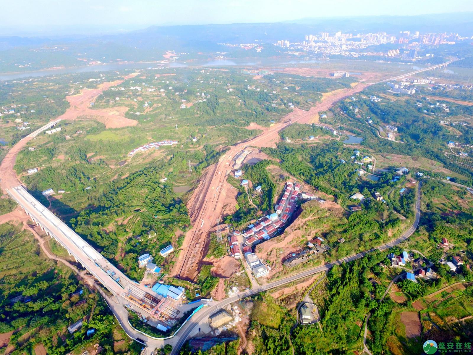 蓬安绕城北路锦屏段、凤凰大桥西延线最新进展!(2019.11.1) - 第12张  | 蓬安在线