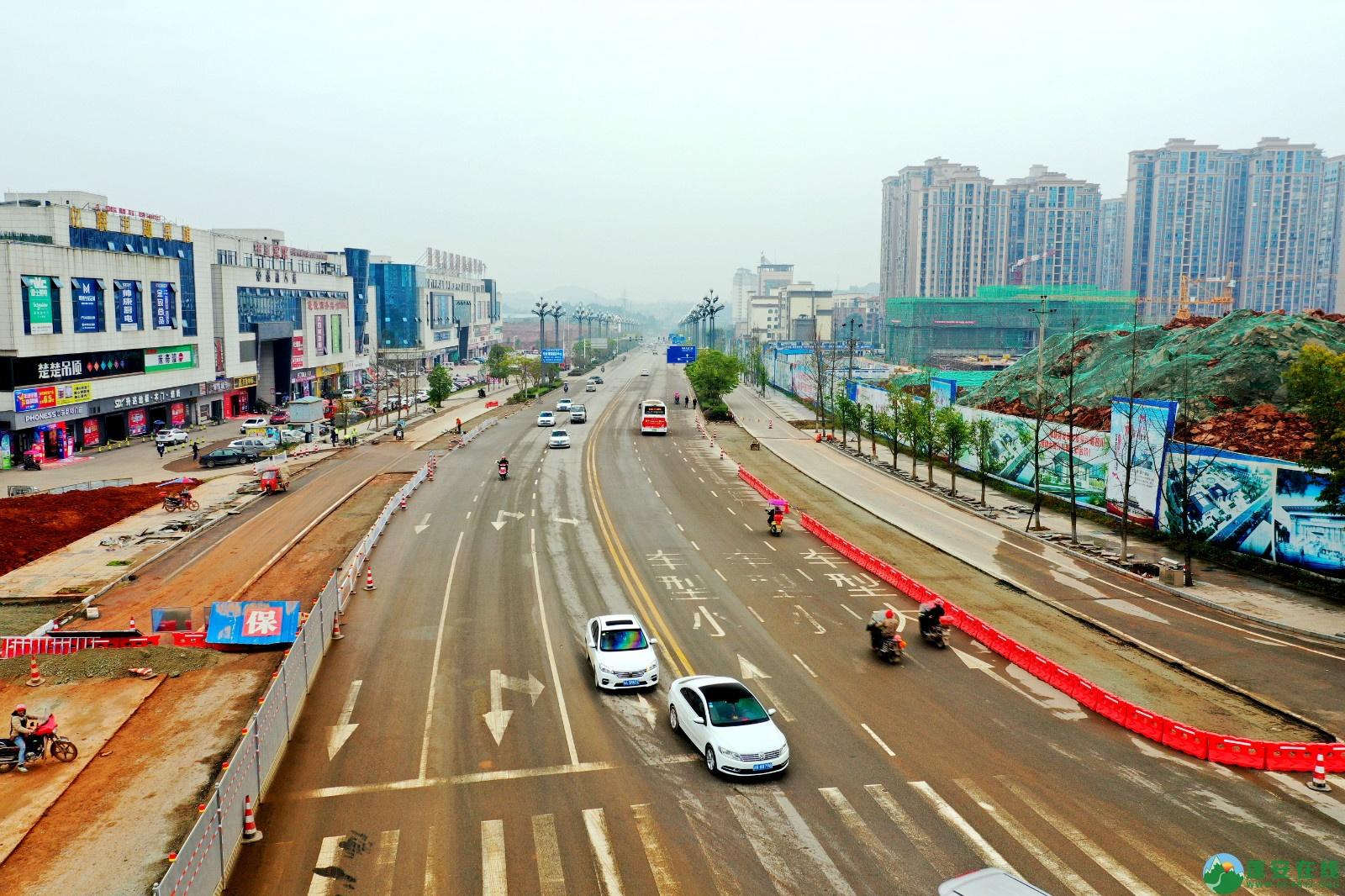 蓬安县凤凰大桥西延线、燕山大道、锦屏干一道、抚琴大道交通要道最新进展!(2019.12.24) - 第6张  | 蓬安在线