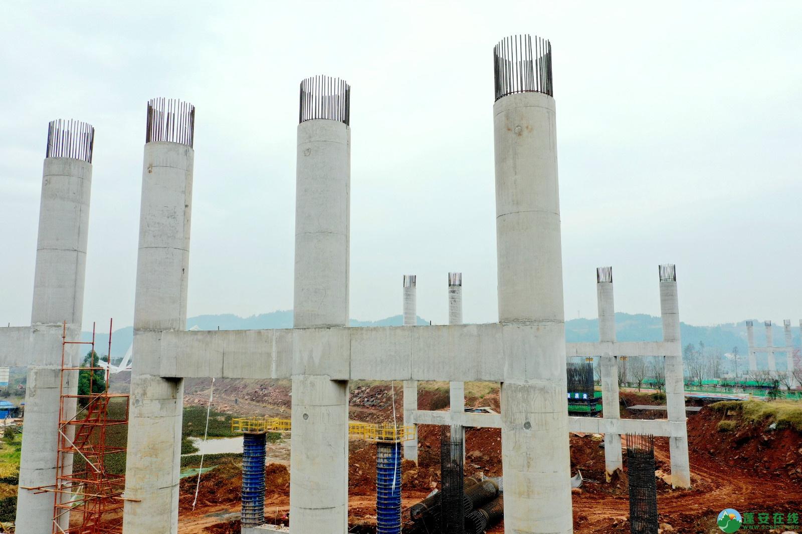 蓬安县顺蓬营公路蓬安嘉陵江三桥进展情况(2019.12.25) - 第1张  | 蓬安在线