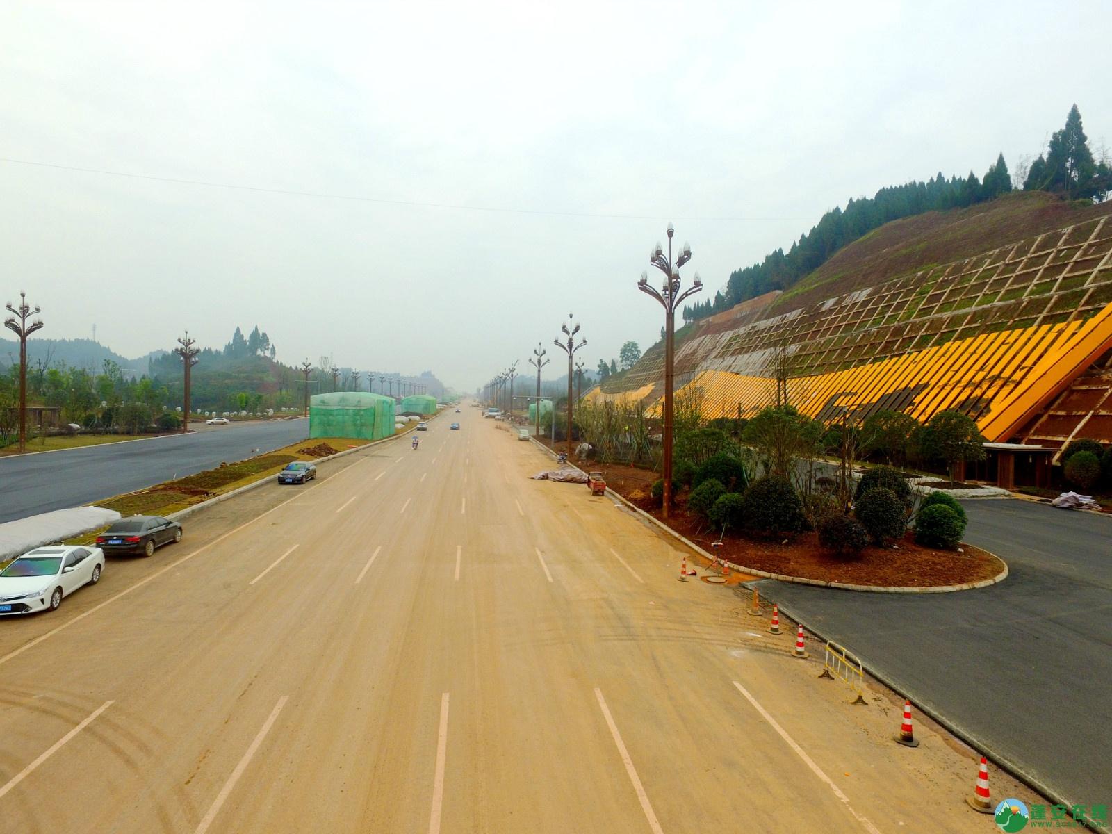 蓬安县凤凰大桥西延线、燕山大道、锦屏干一道、抚琴大道交通要道最新进展!(2019.12.24) - 第13张  | 蓬安在线