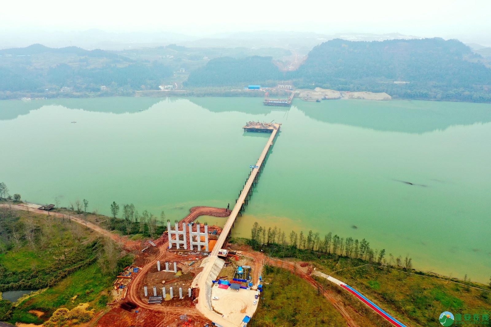 蓬安县顺蓬营公路蓬安嘉陵江三桥进展情况(2019.12.25) - 第2张  | 蓬安在线