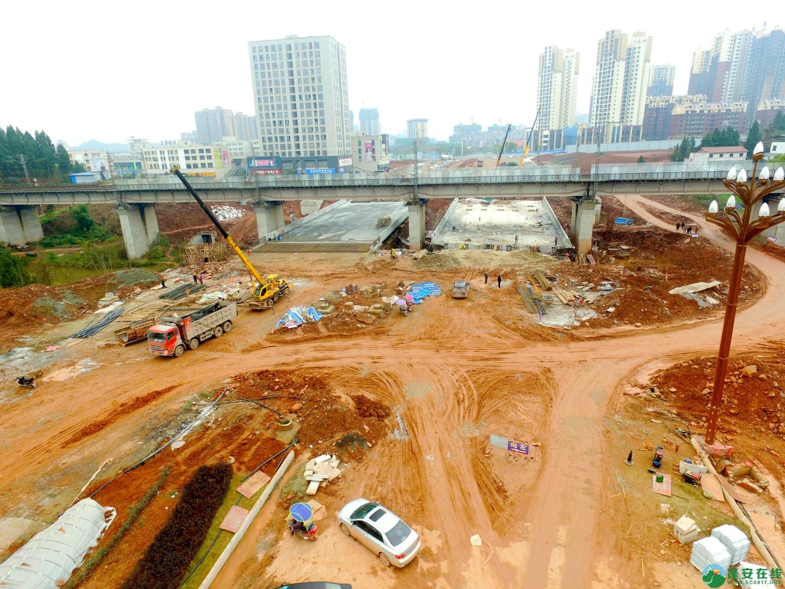 蓬安县凤凰大桥西延线、燕山大道、锦屏干一道、抚琴大道交通要道最新进展!(2019.12.24) - 第22张  | 蓬安在线