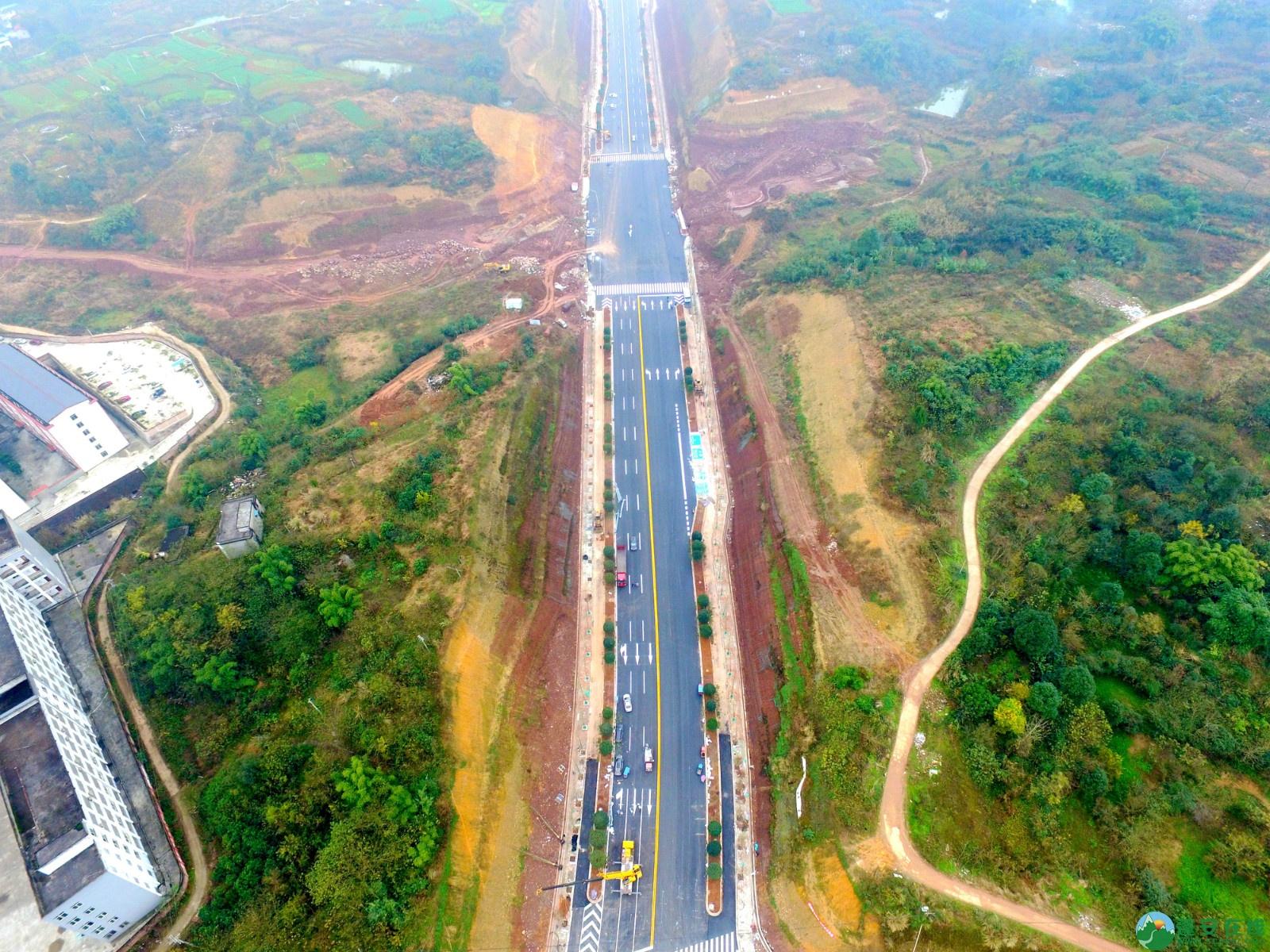 蓬安县凤凰大桥西延线、燕山大道、锦屏干一道、抚琴大道交通要道最新进展!(2019.12.24) - 第26张  | 蓬安在线