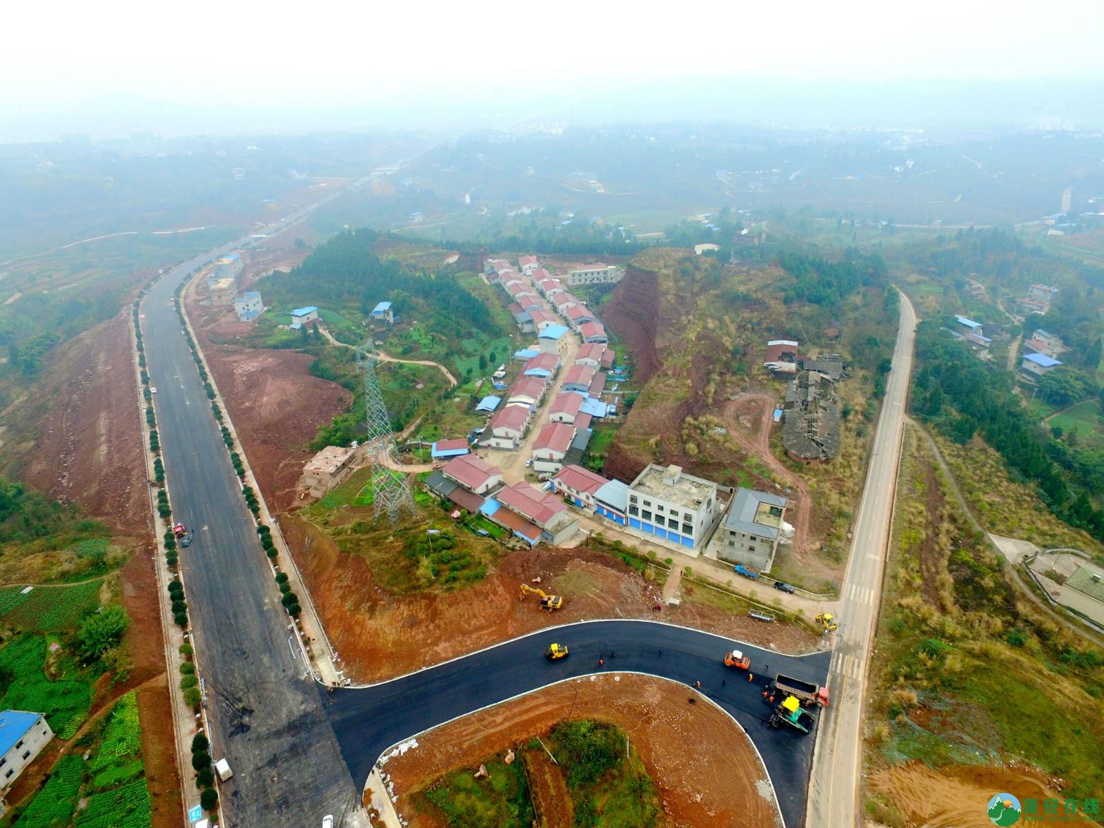 蓬安县凤凰大桥西延线、燕山大道、锦屏干一道、抚琴大道交通要道最新进展!(2019.12.24) - 第28张  | 蓬安在线