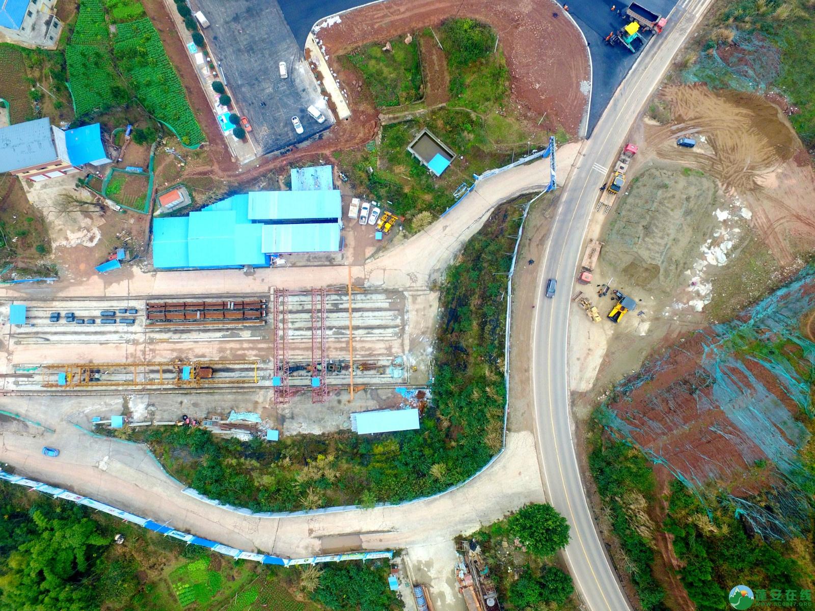 蓬安县凤凰大桥西延线、燕山大道、锦屏干一道、抚琴大道交通要道最新进展!(2019.12.24) - 第29张  | 蓬安在线