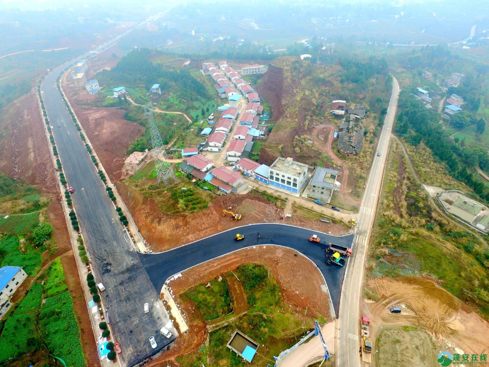 蓬安县凤凰大桥西延线、燕山大道、锦屏干一道、抚琴大道交通要道最新进展!(2019.12.24) - 第30张  | 蓬安在线