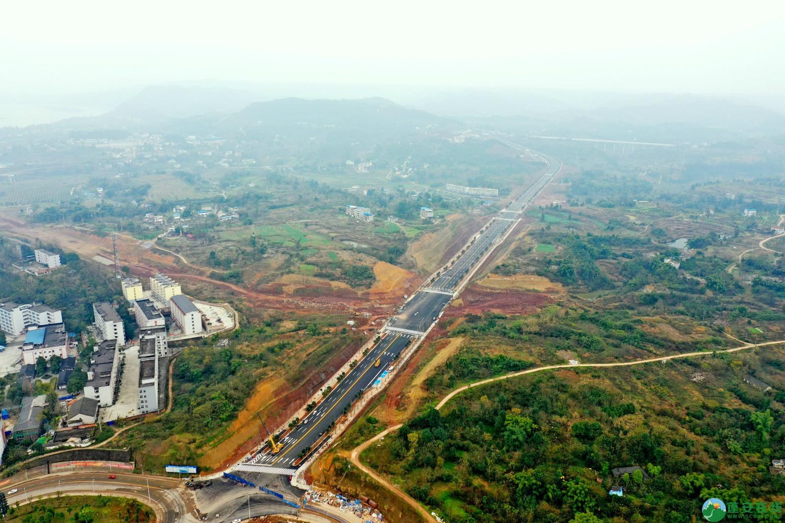 蓬安县凤凰大桥西延线、燕山大道、锦屏干一道、抚琴大道交通要道最新进展!(2019.12.24) - 第32张  | 蓬安在线