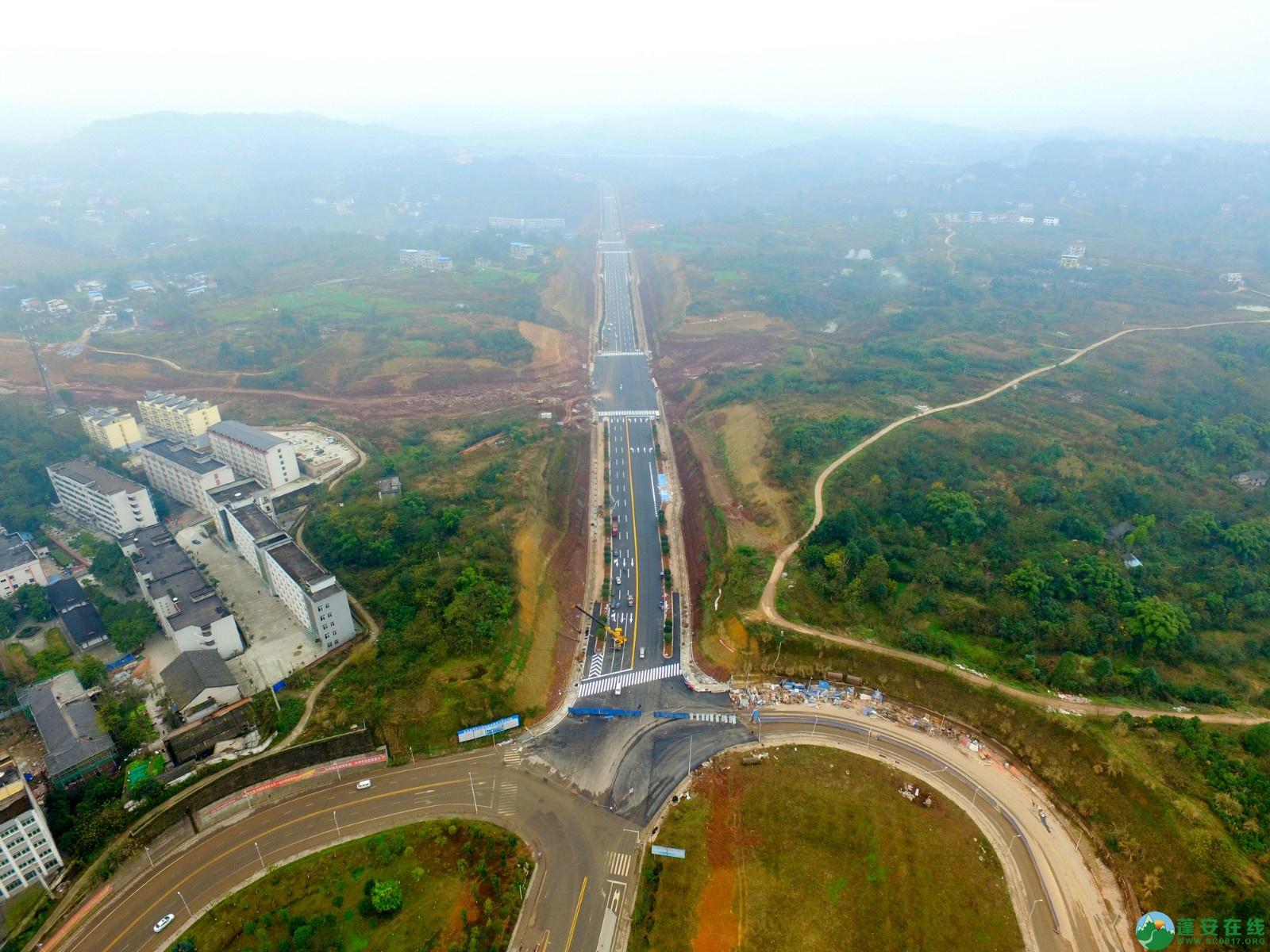 蓬安县凤凰大桥西延线、燕山大道、锦屏干一道、抚琴大道交通要道最新进展!(2019.12.24) - 第33张  | 蓬安在线
