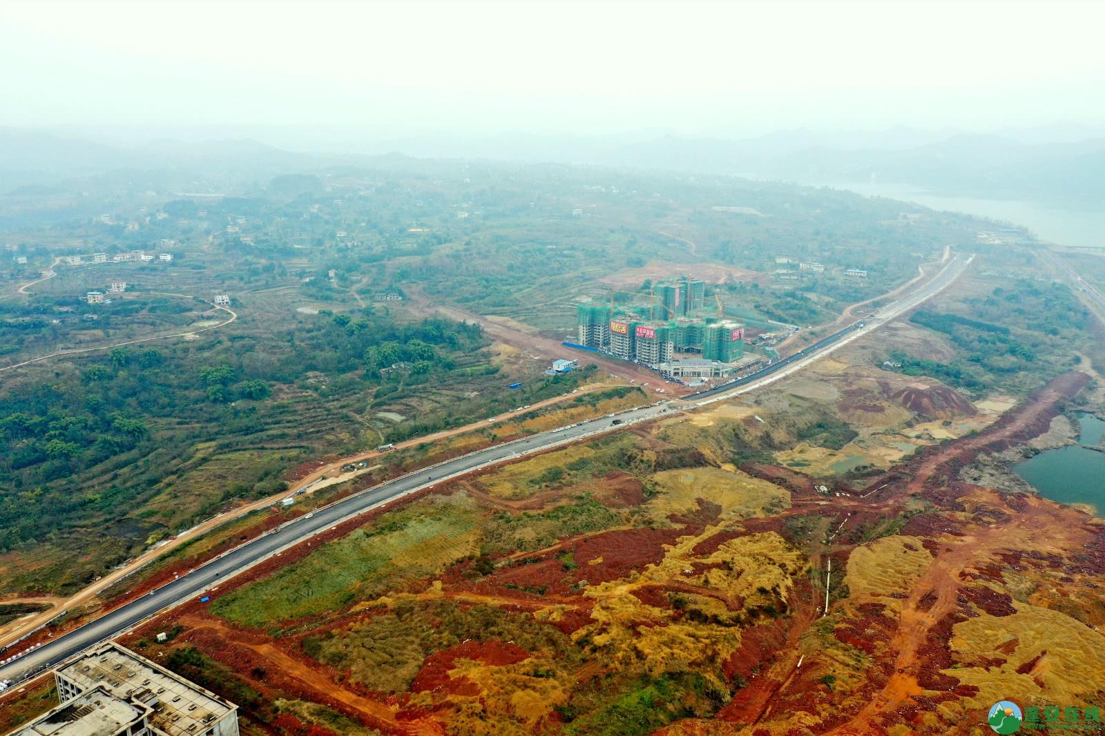 蓬安县凤凰大桥西延线、燕山大道、锦屏干一道、抚琴大道交通要道最新进展!(2019.12.24) - 第45张  | 蓬安在线
