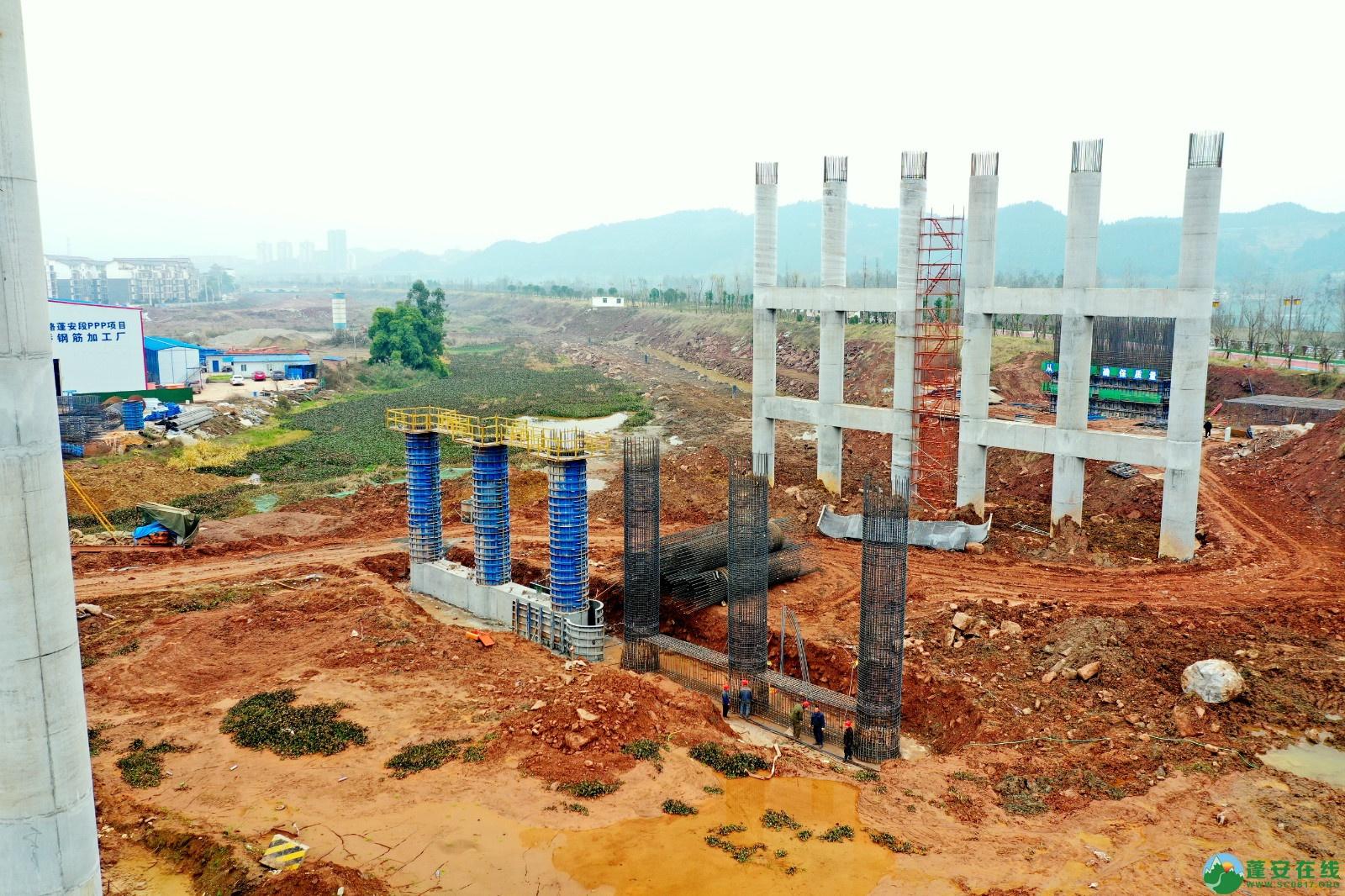 蓬安县顺蓬营公路蓬安嘉陵江三桥进展情况(2019.12.25) - 第5张  | 蓬安在线