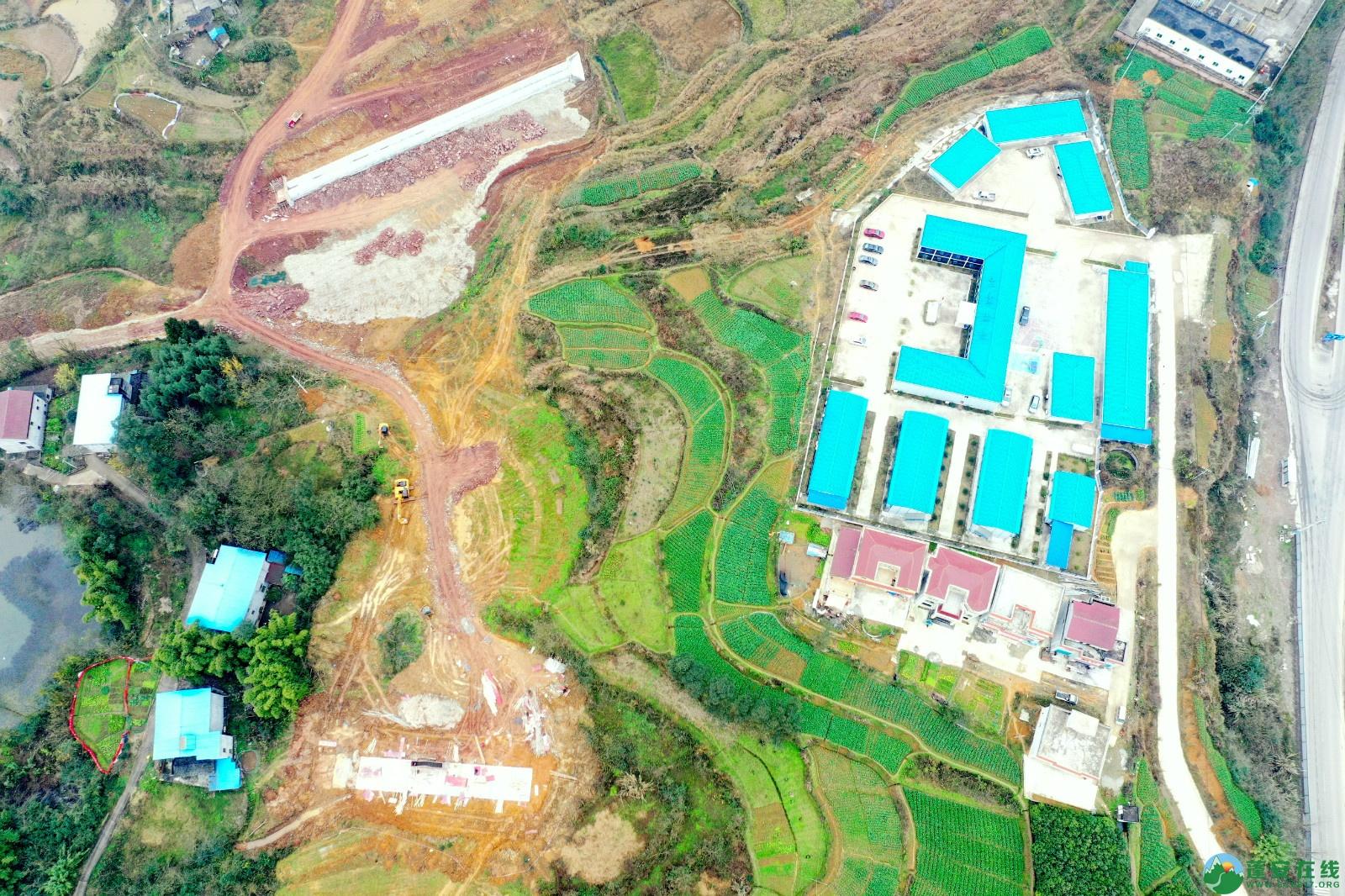 蓬安县顺蓬营公路蓬安嘉陵江三桥进展情况(2019.12.25) - 第7张  | 蓬安在线
