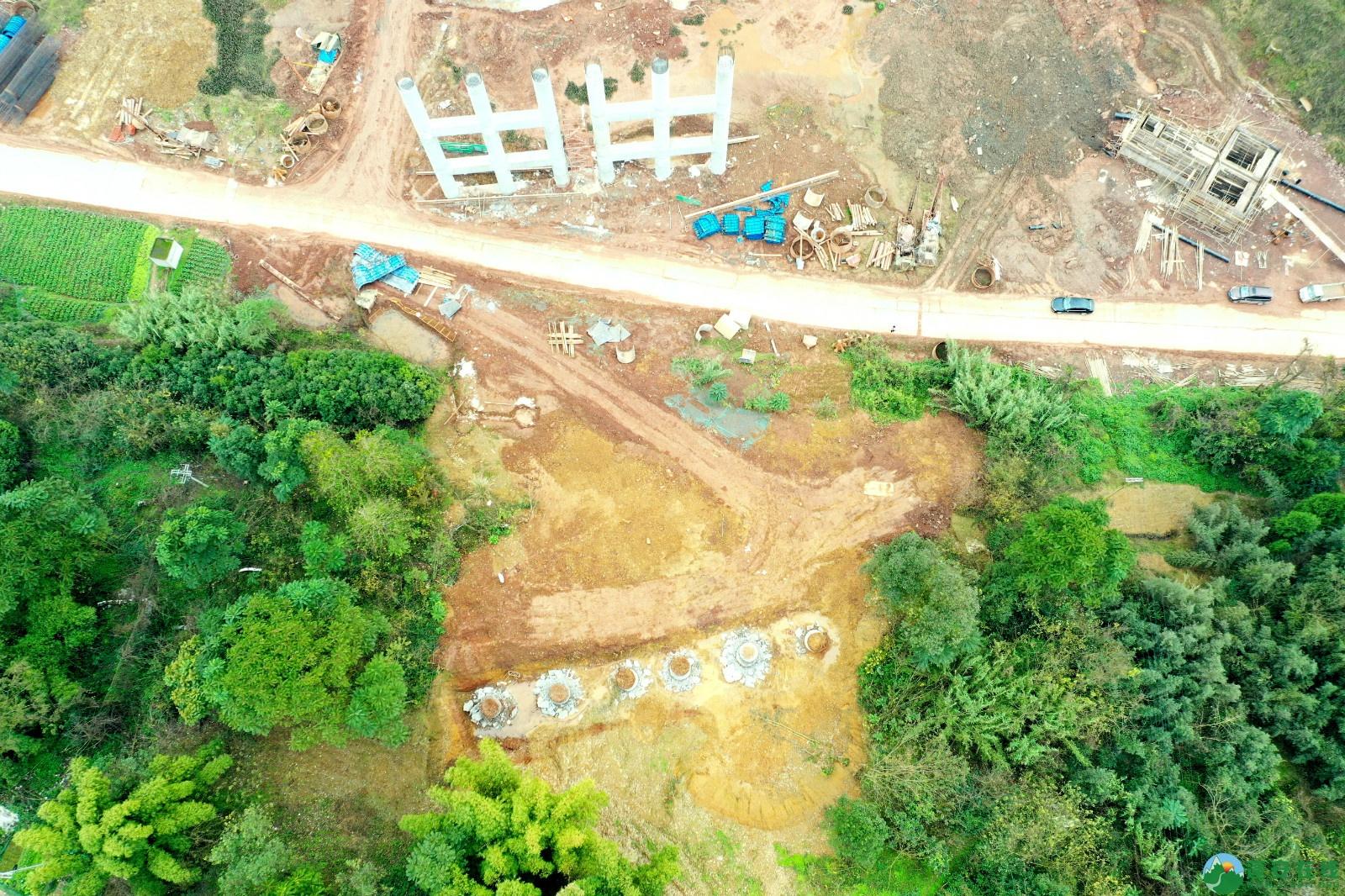 蓬安县顺蓬营公路蓬安嘉陵江三桥进展情况(2019.12.25) - 第9张  | 蓬安在线