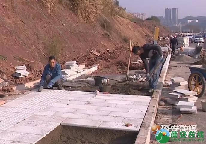蓬安县锦屏镇凤凰大道西延线预计本月底前通车 - 第2张  | 蓬安在线