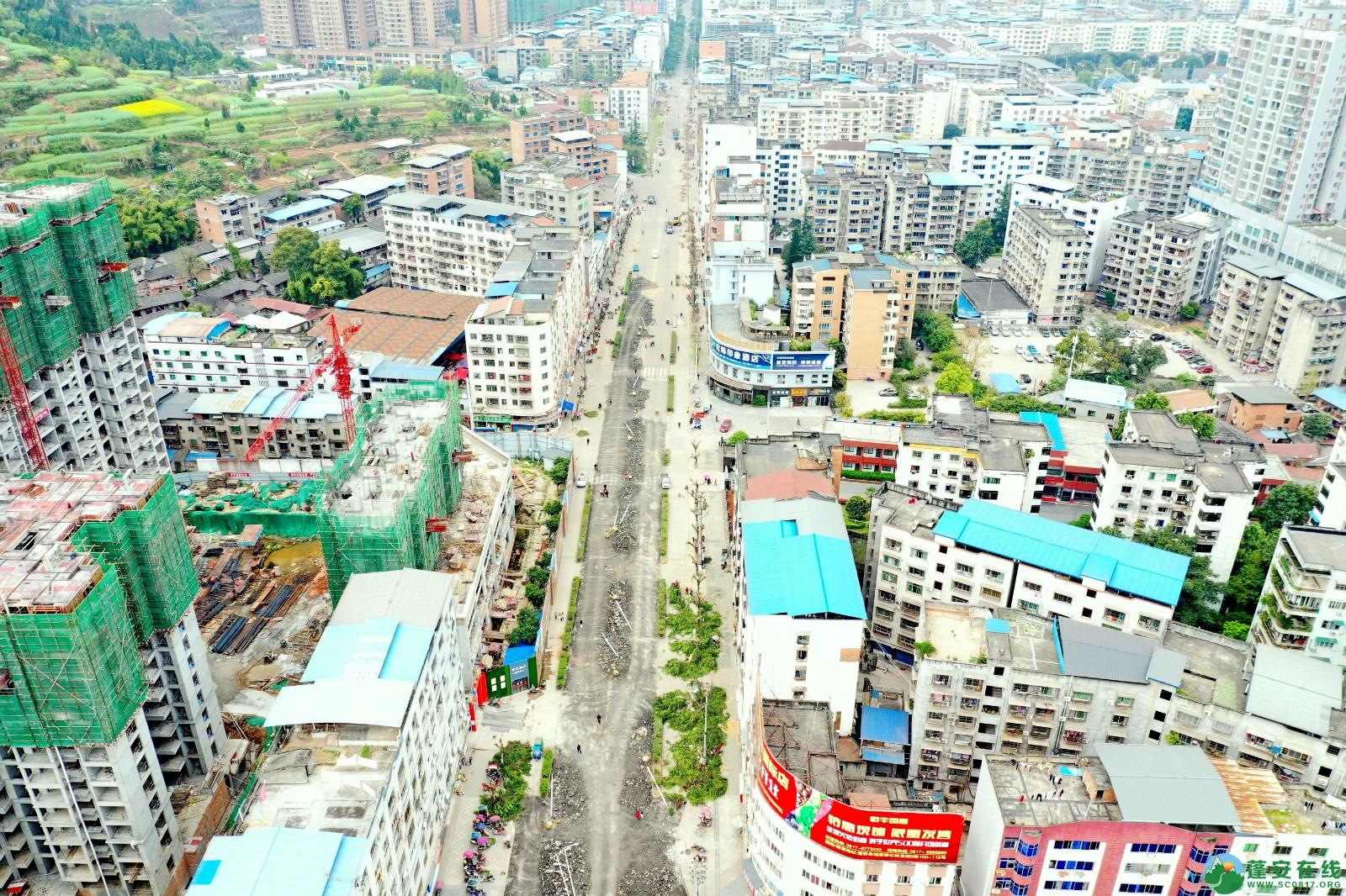 蓬安建设南路老旧街道小区美化改造(2020.3.22) - 第10张  | 蓬安在线
