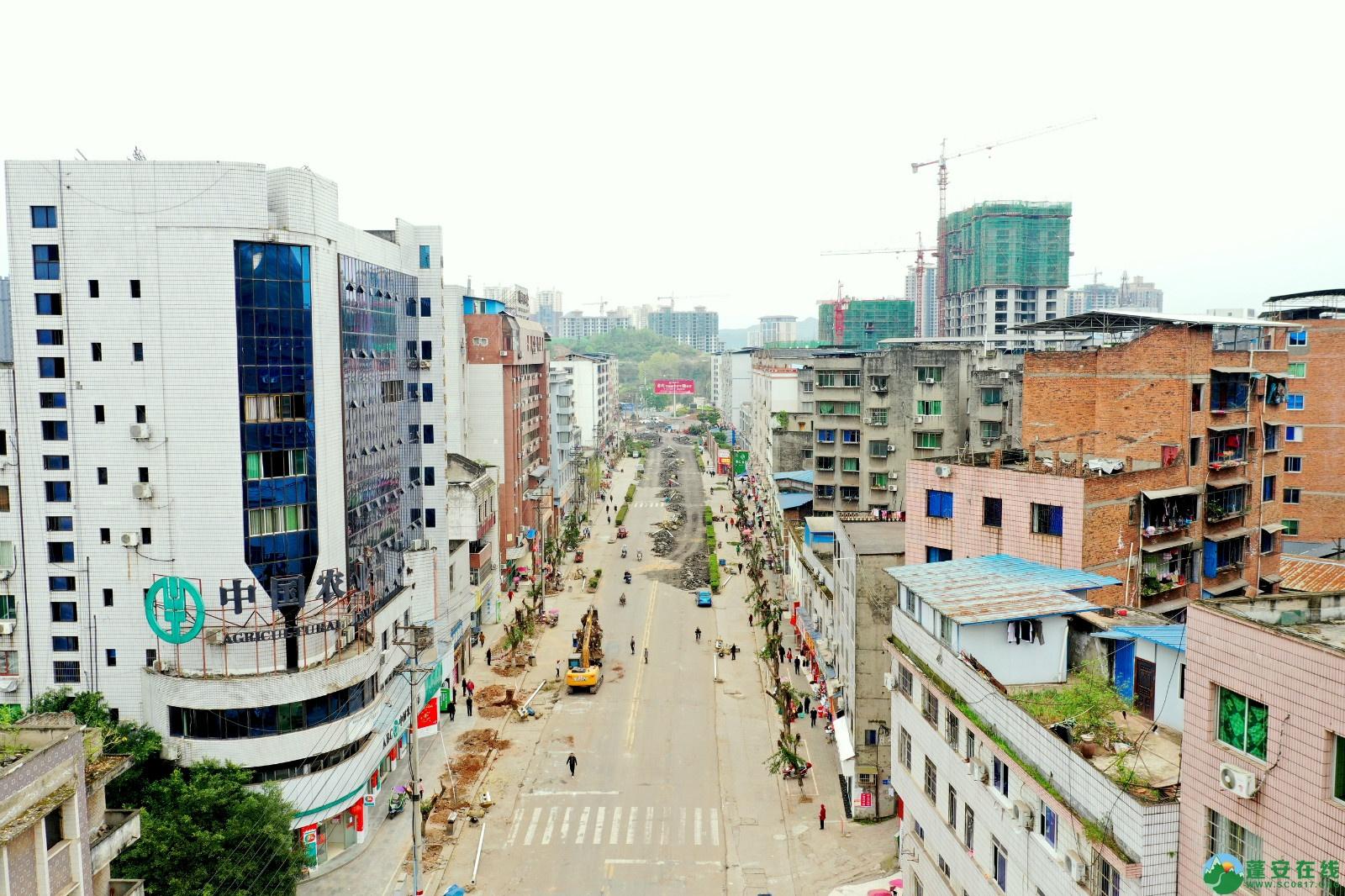 蓬安建设南路老旧街道小区美化改造(2020.3.22) - 第11张  | 蓬安在线