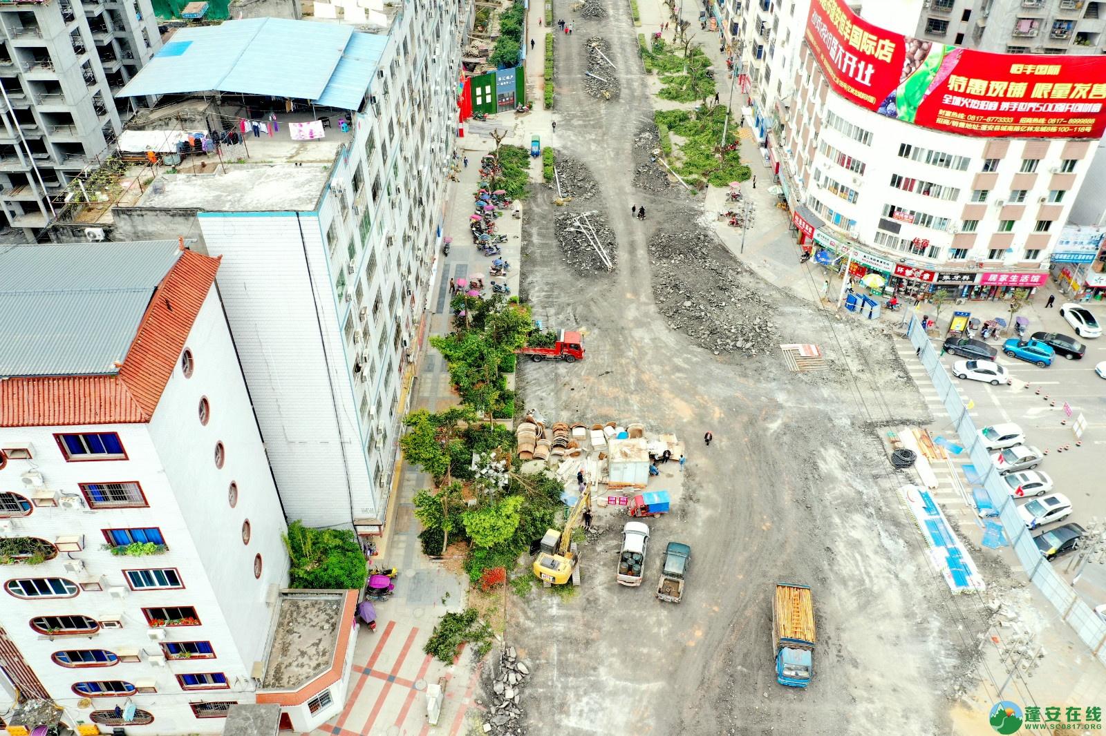 蓬安建设南路老旧街道小区美化改造(2020.3.22) - 第5张  | 蓬安在线